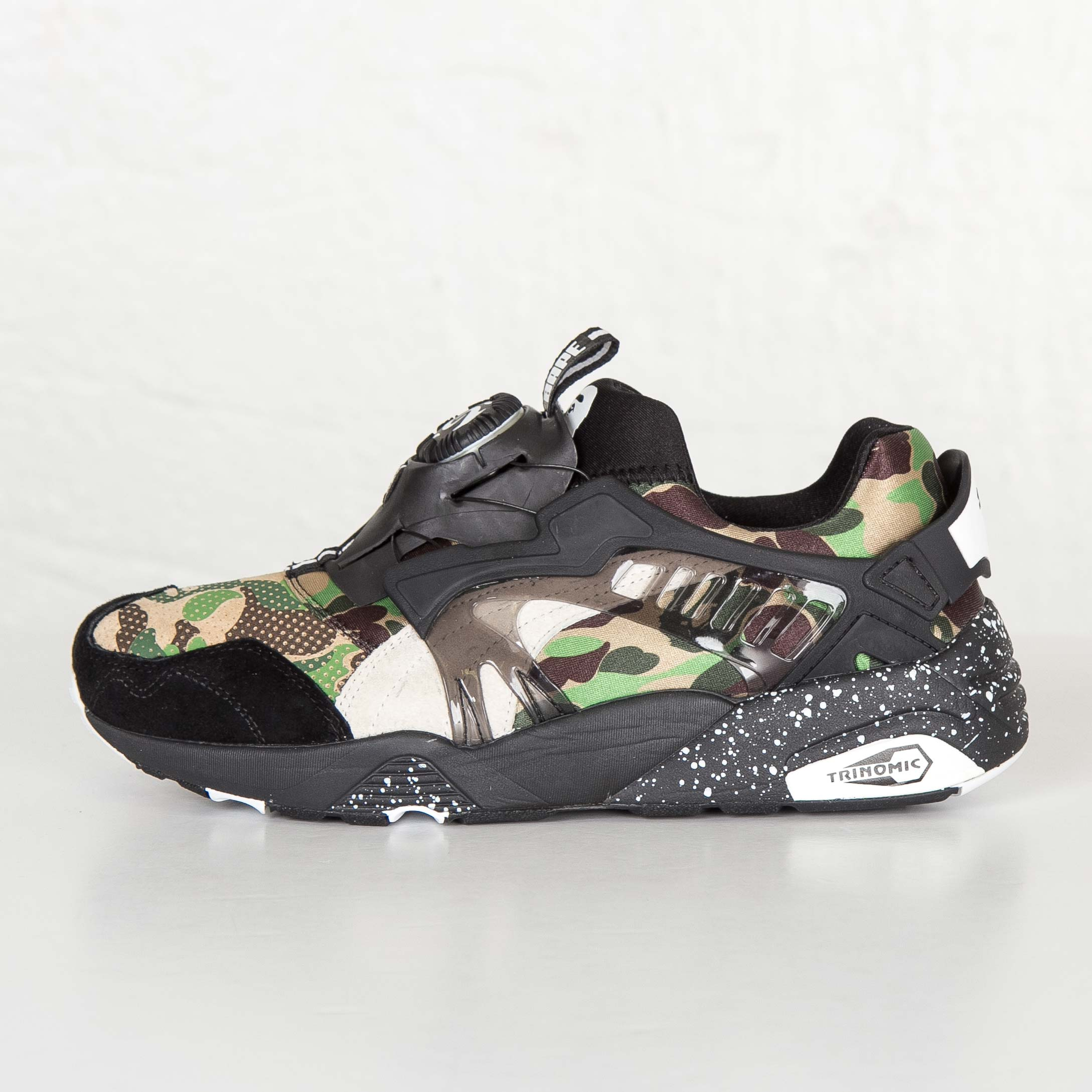 74d5acc0ed07e Puma Disc Blaze x Bape - 358846-01 - Sneakersnstuff | sneakers ...