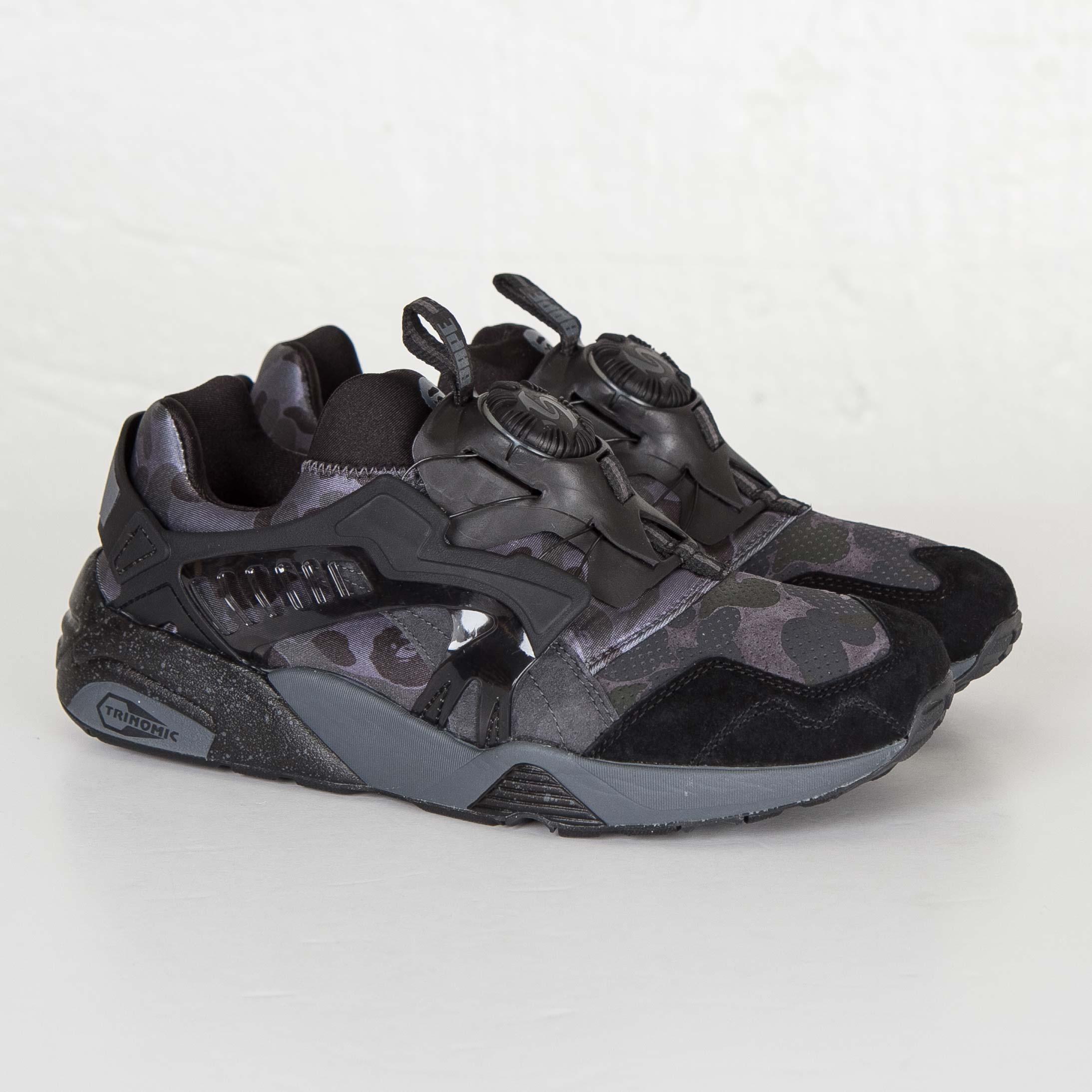 FENTY PUMA Abyss diamond low boot sneaker men white black UK 8 EU 42