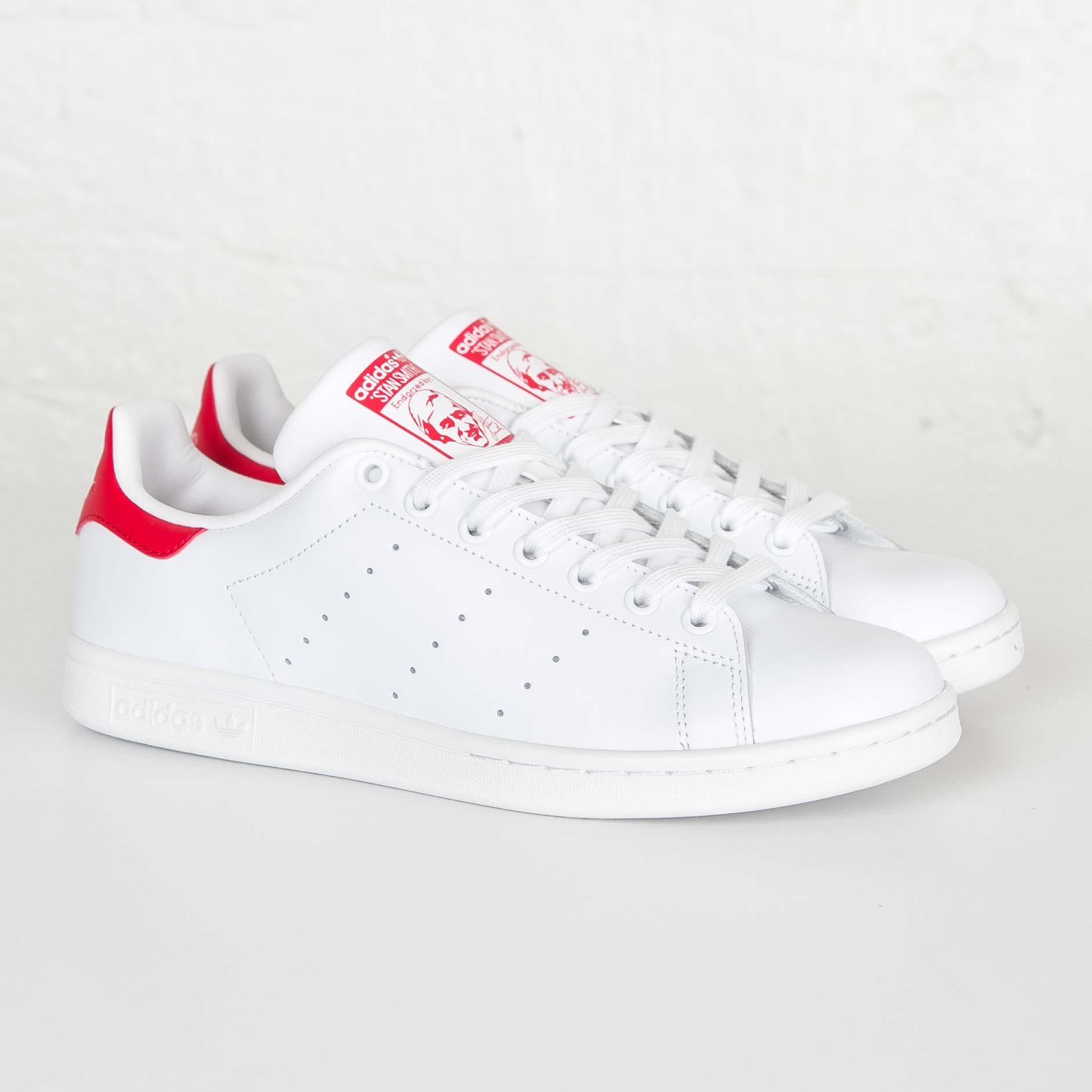 stan smith rosso 38