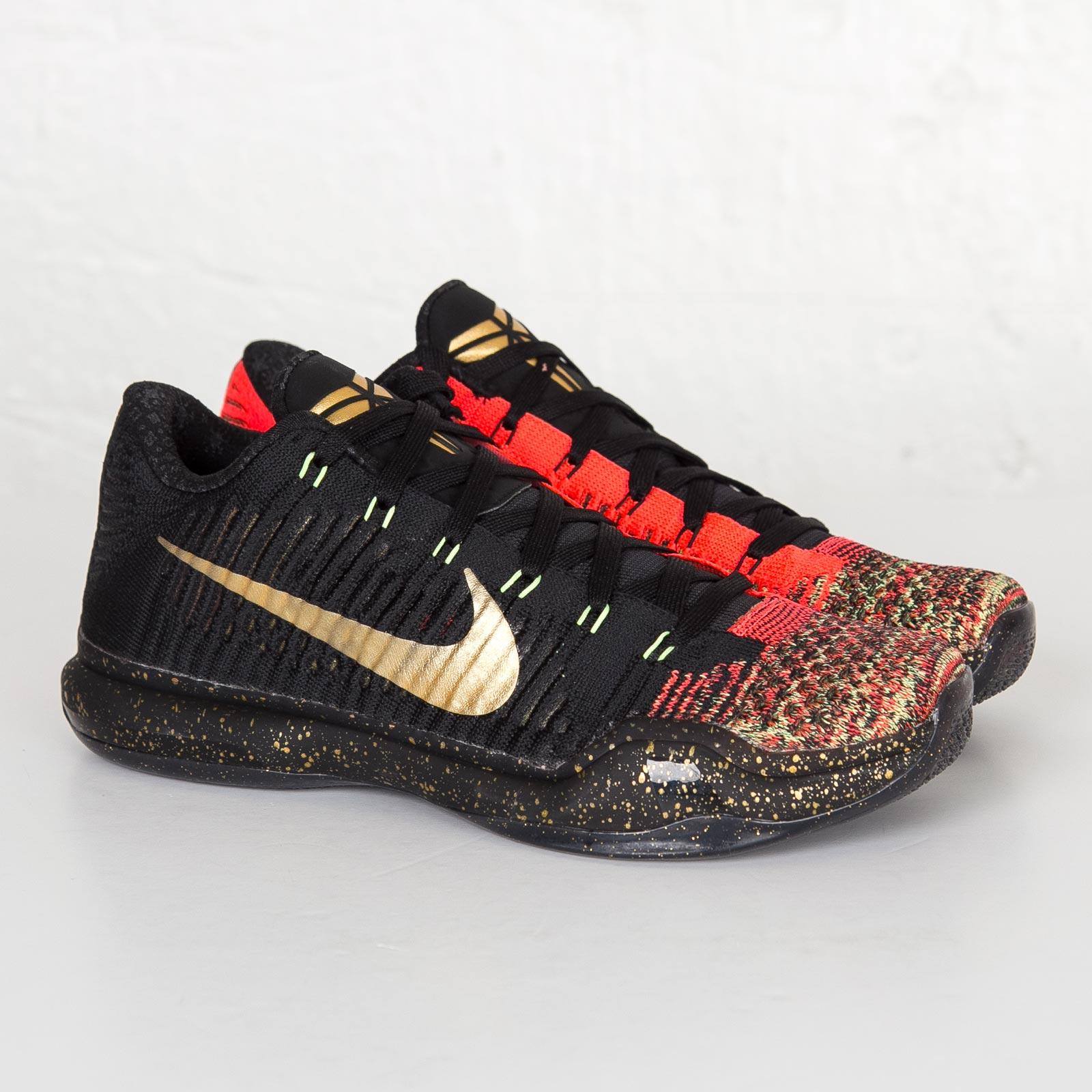 competitive price b7dd5 e764f Nike Kobe X Elite Low Xmas