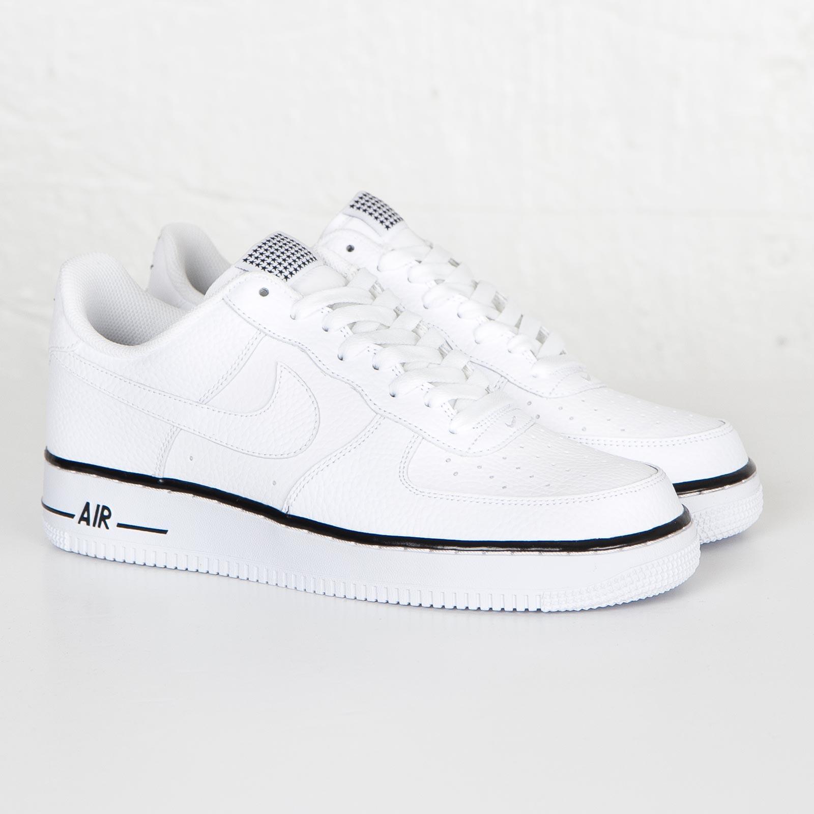 Chaussure Homme Nike Air Force 1 Blanc Noir N ° D 'article 488298 160