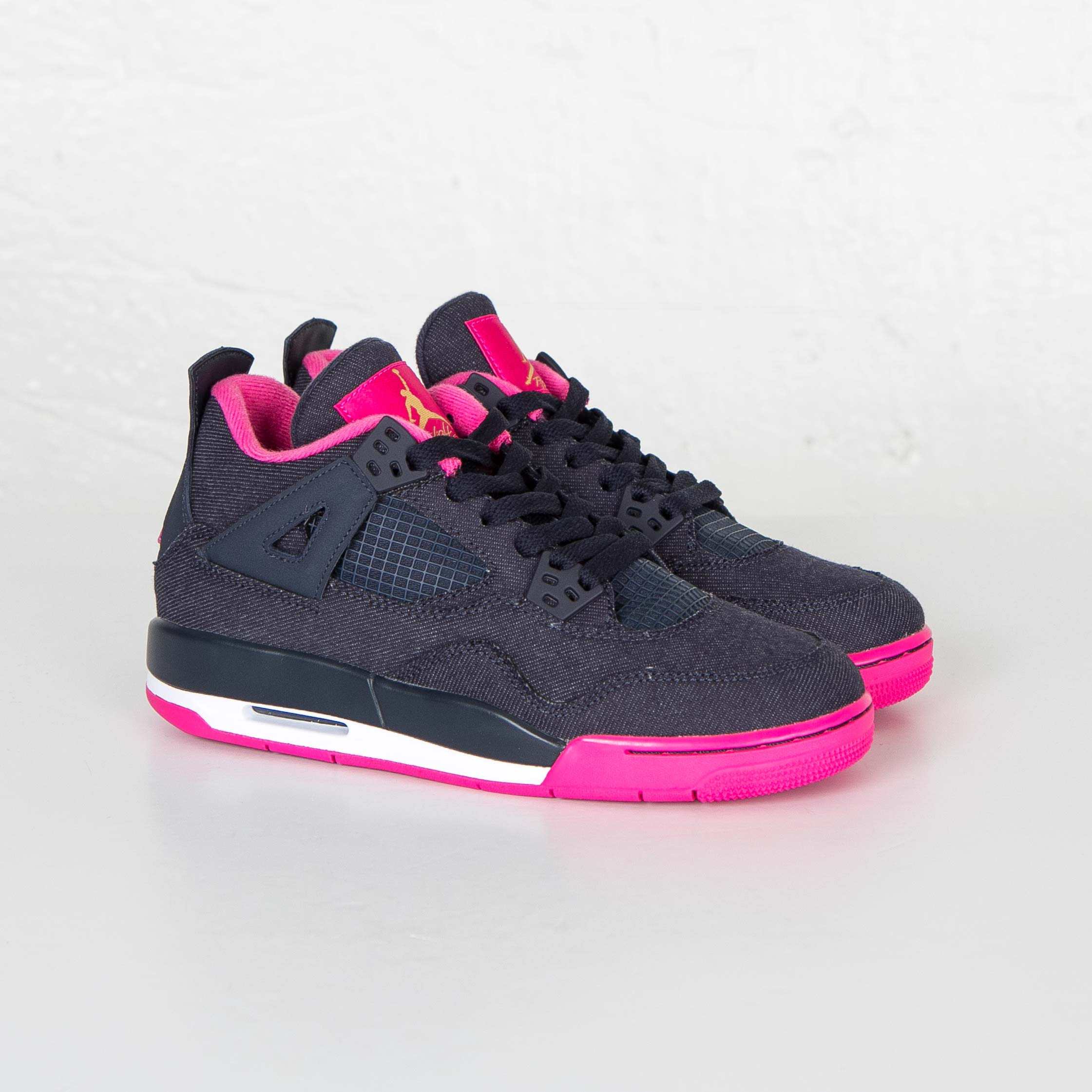 1cb110f6e61 Jordan Brand Air Jordan 4 Retro (GS) - 487724-408 - Sneakersnstuff ...