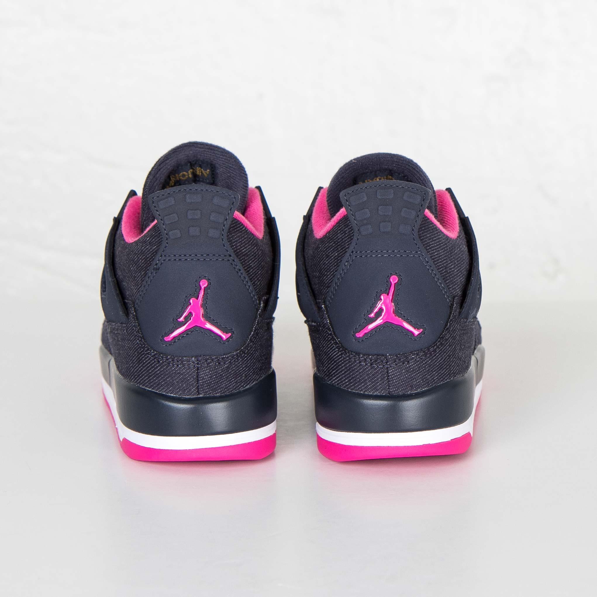 e00bd06170a Jordan Brand Air Jordan 4 Retro (GS) - 487724-408 - Sneakersnstuff |  sneakers & streetwear online since 1999