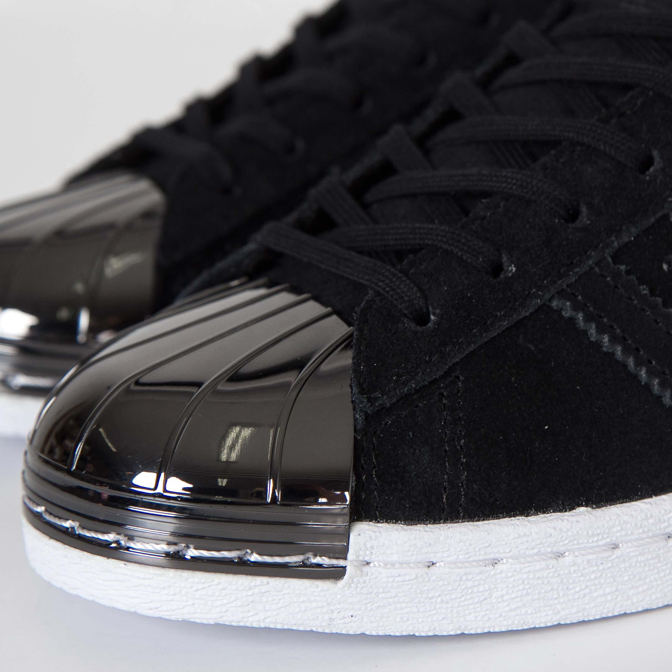 adidas damen superstar metal toe trainer low