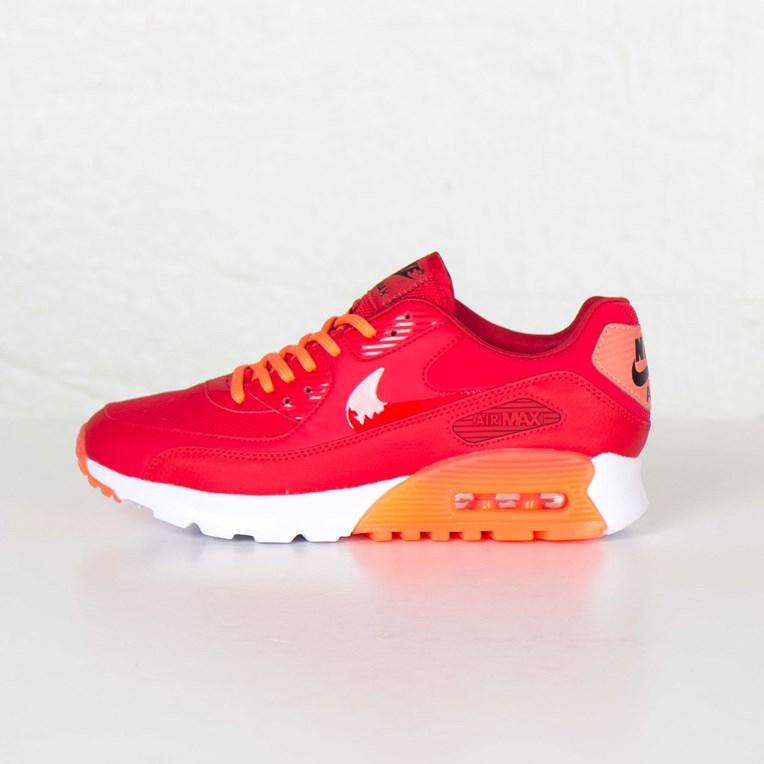 Details zu Nike Air Max 90 Ultra Essential Sportschuhe Damen Schuhe Rot 724981 602 Neu