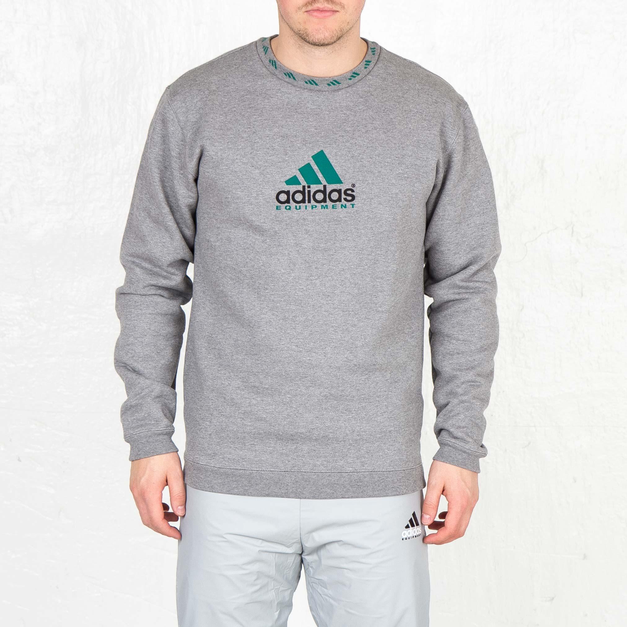 66fada2b6d81 adidas Eqt Crew Sweat - Aj7346 - Sneakersnstuff