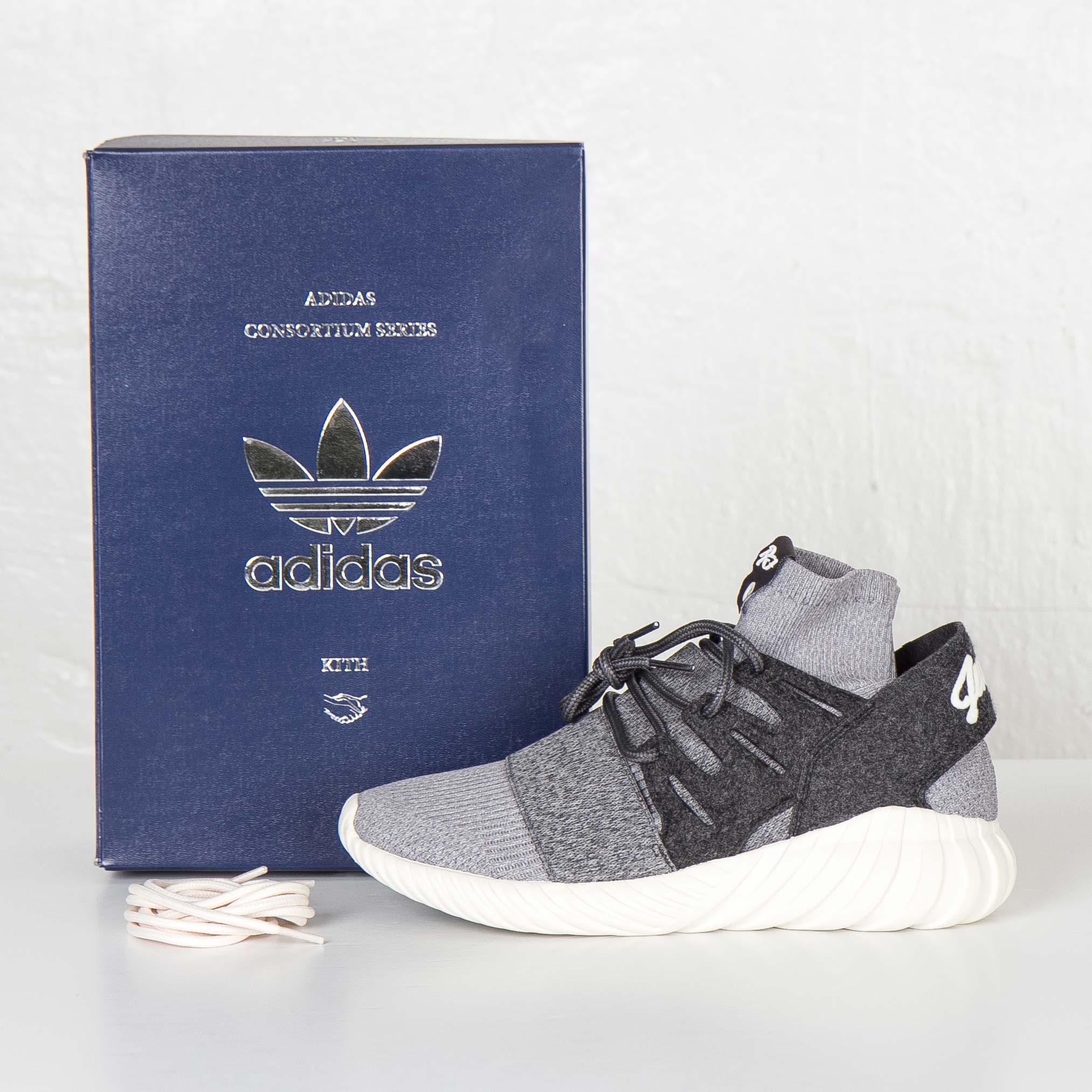 uk availability f07c3 066e4 adidas Tubular Doom PK Kith - Aq3913 - Sneakersnstuff ...