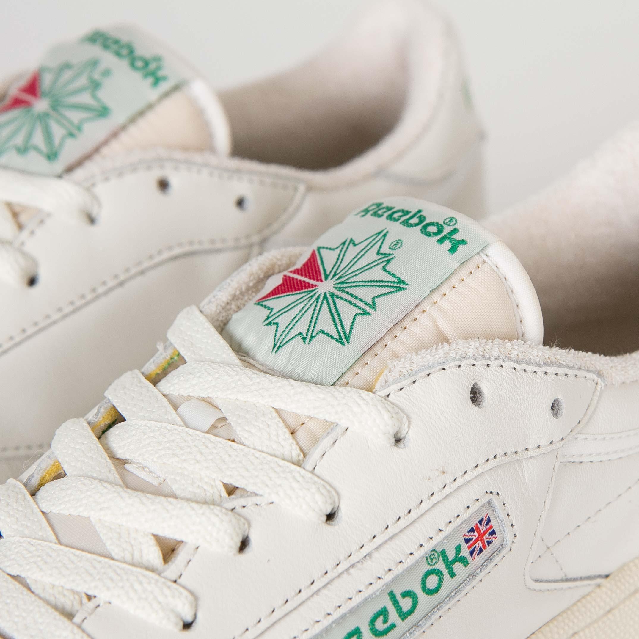 1ee3bafd62a Reebok Club C 85 Vintage - V67899 - Sneakersnstuff