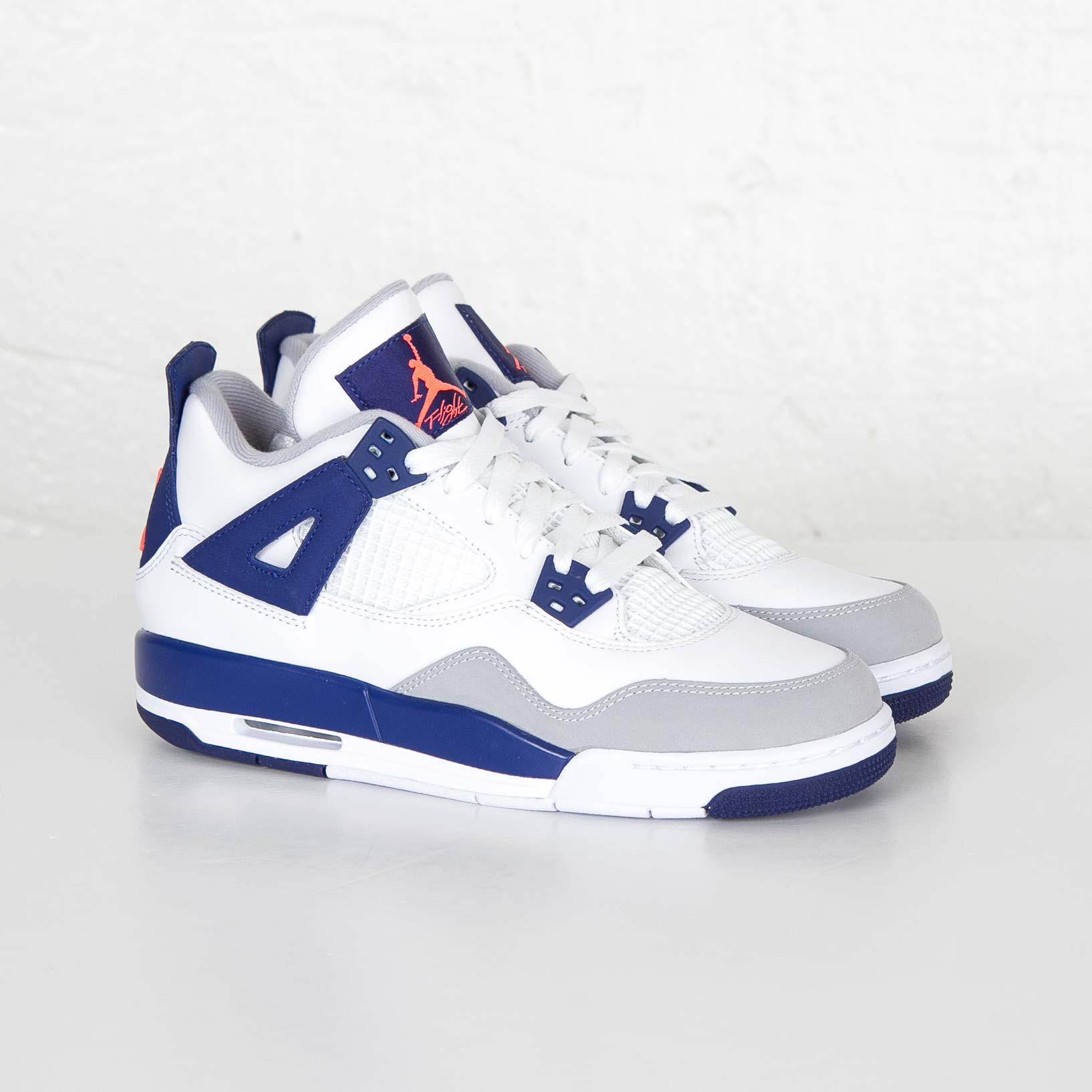 2ea83ec66c9 Jordan Brand Air Jordan 4 Retro (GS) - 487724-132 - Sneakersnstuff ...