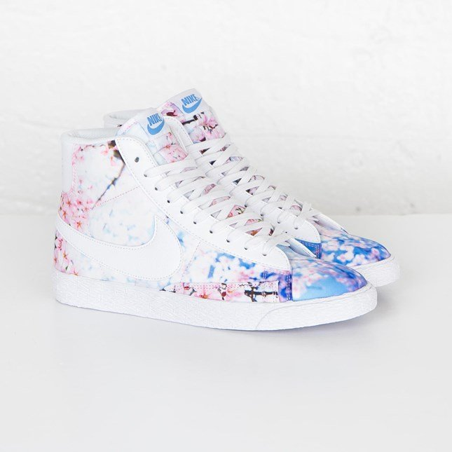 hot sales 10db6 de7a6 spain nike wmns blazer mid print d8cd3 61692