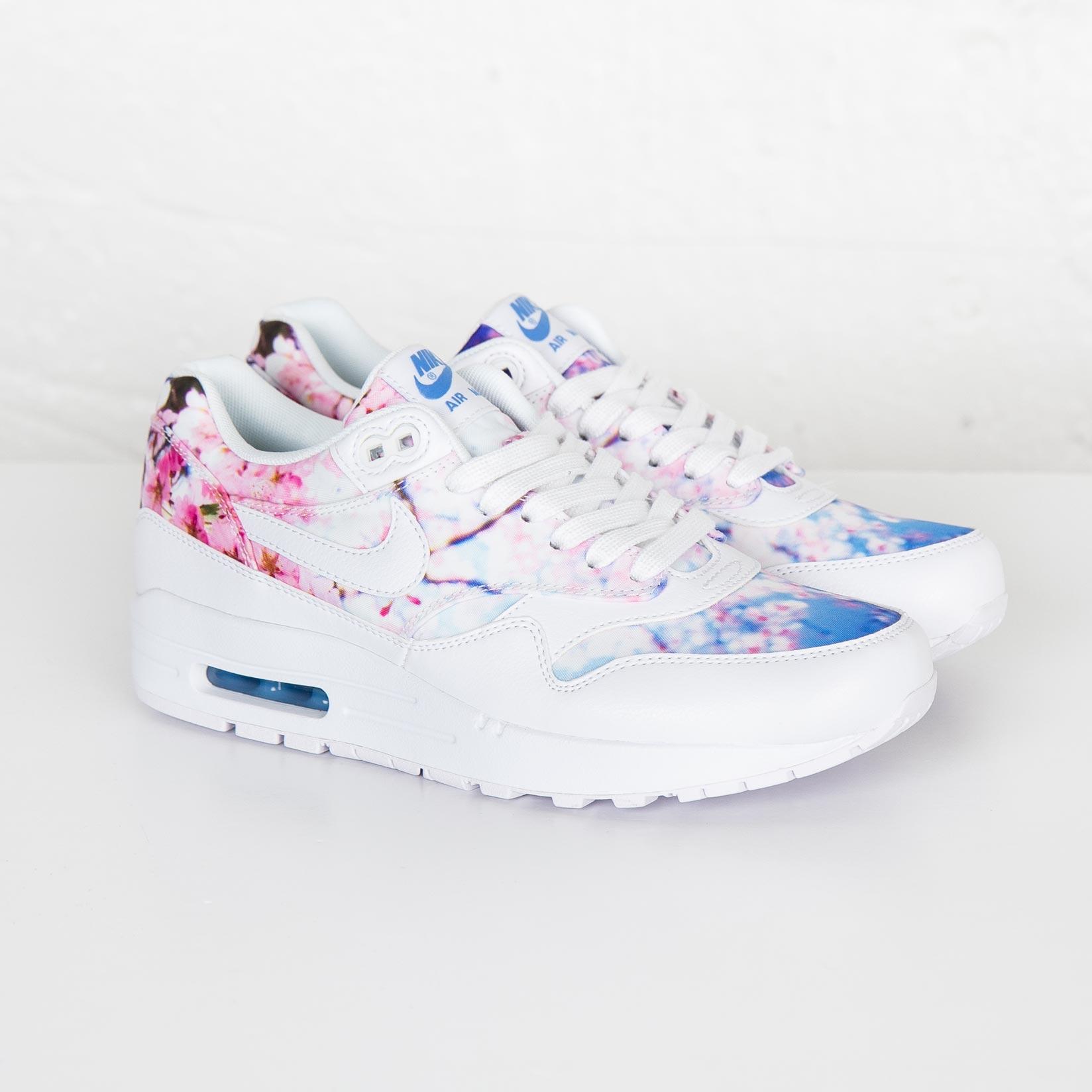 NIKE WMNS AIR MAX 1 PRINT CHERRY BLOSSOM 528898 102 Nike wmns Air Max 1 print cherry blossom Sakura