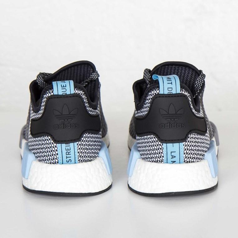 adidas NMD R1 core blackclear blue (Herren) (S79159)