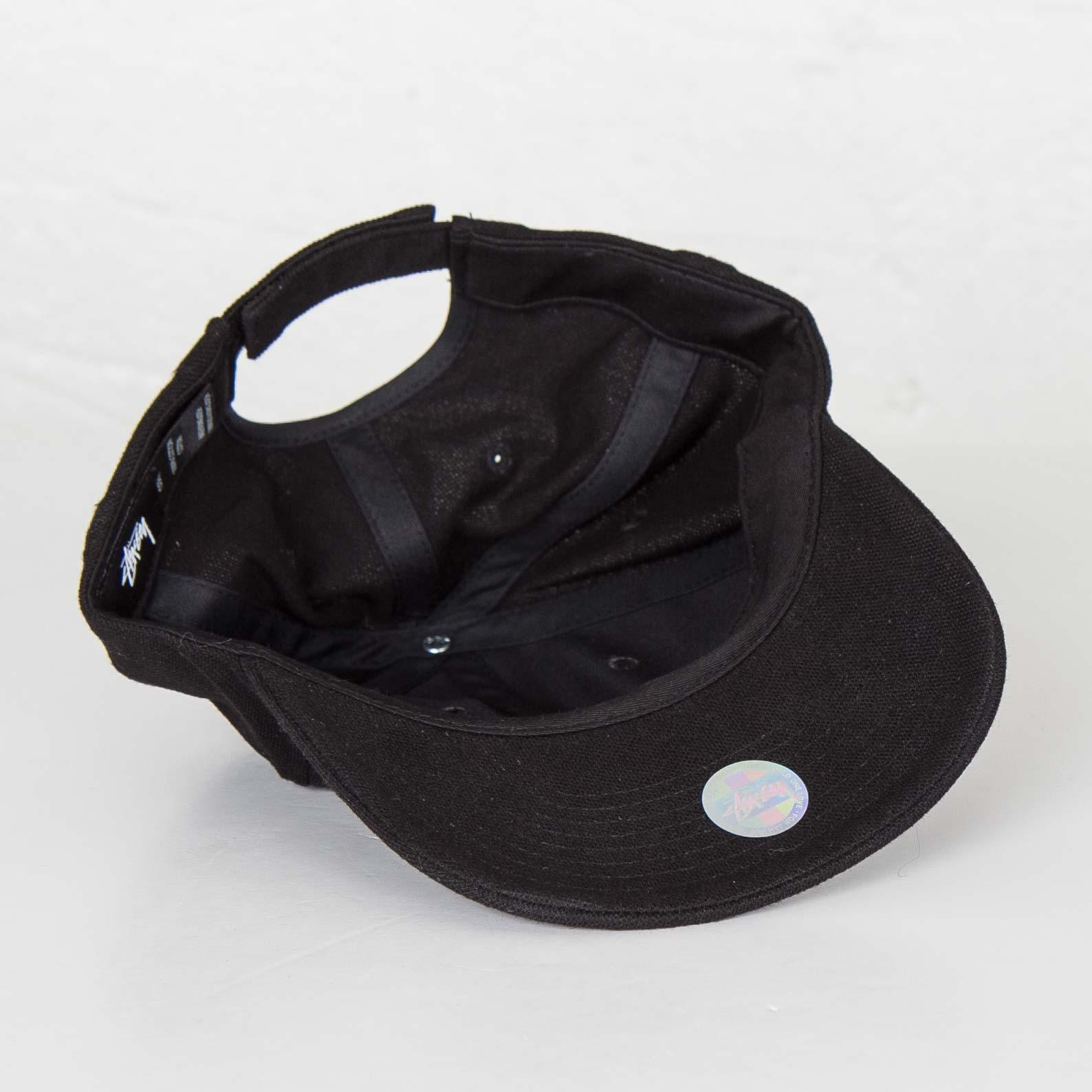Stussy Stock Pique Cap - 131534-0001 - Sneakersnstuff  25bcc8145c3