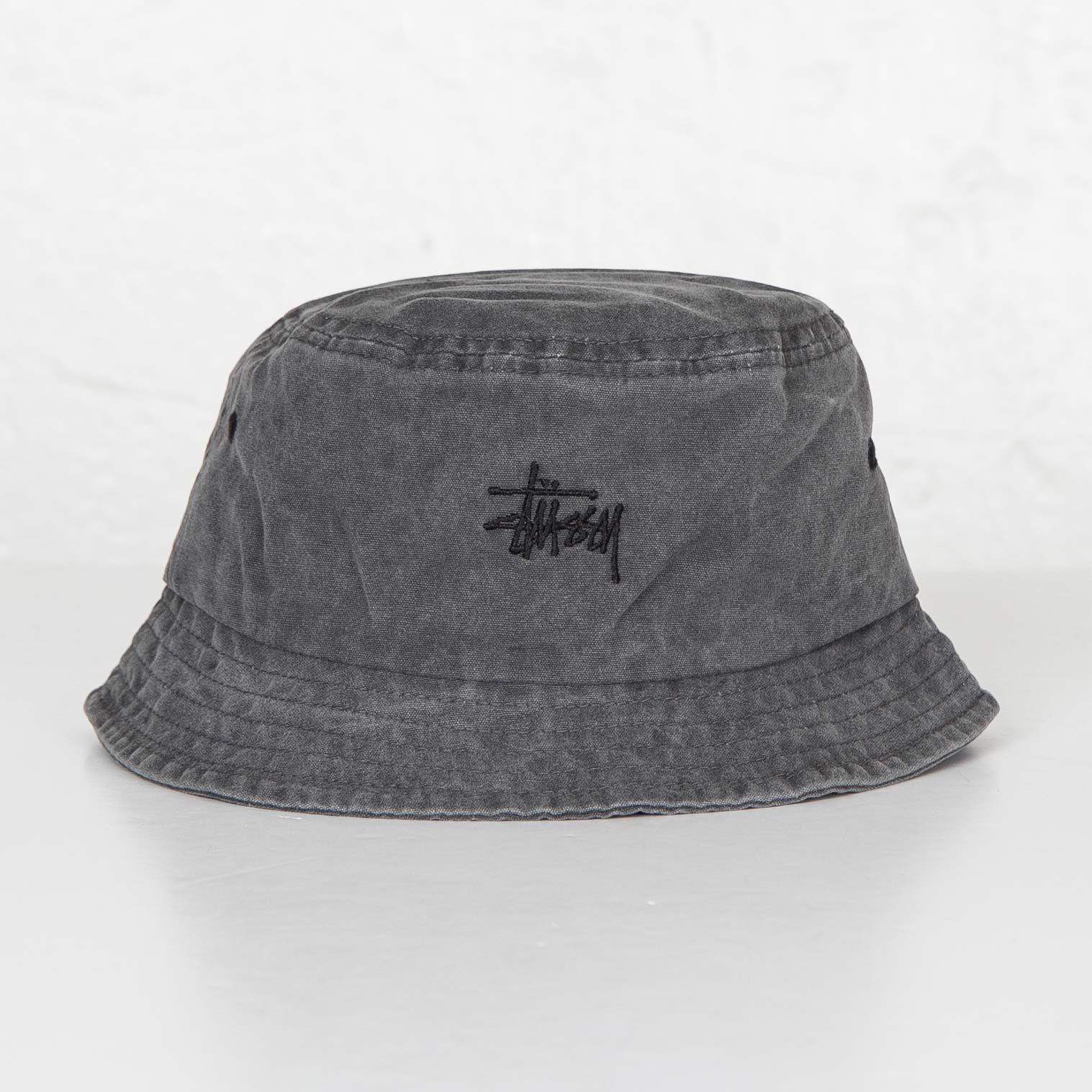 70623028200 Stussy Bucket Hat - 132753-0001 - Sneakersnstuff