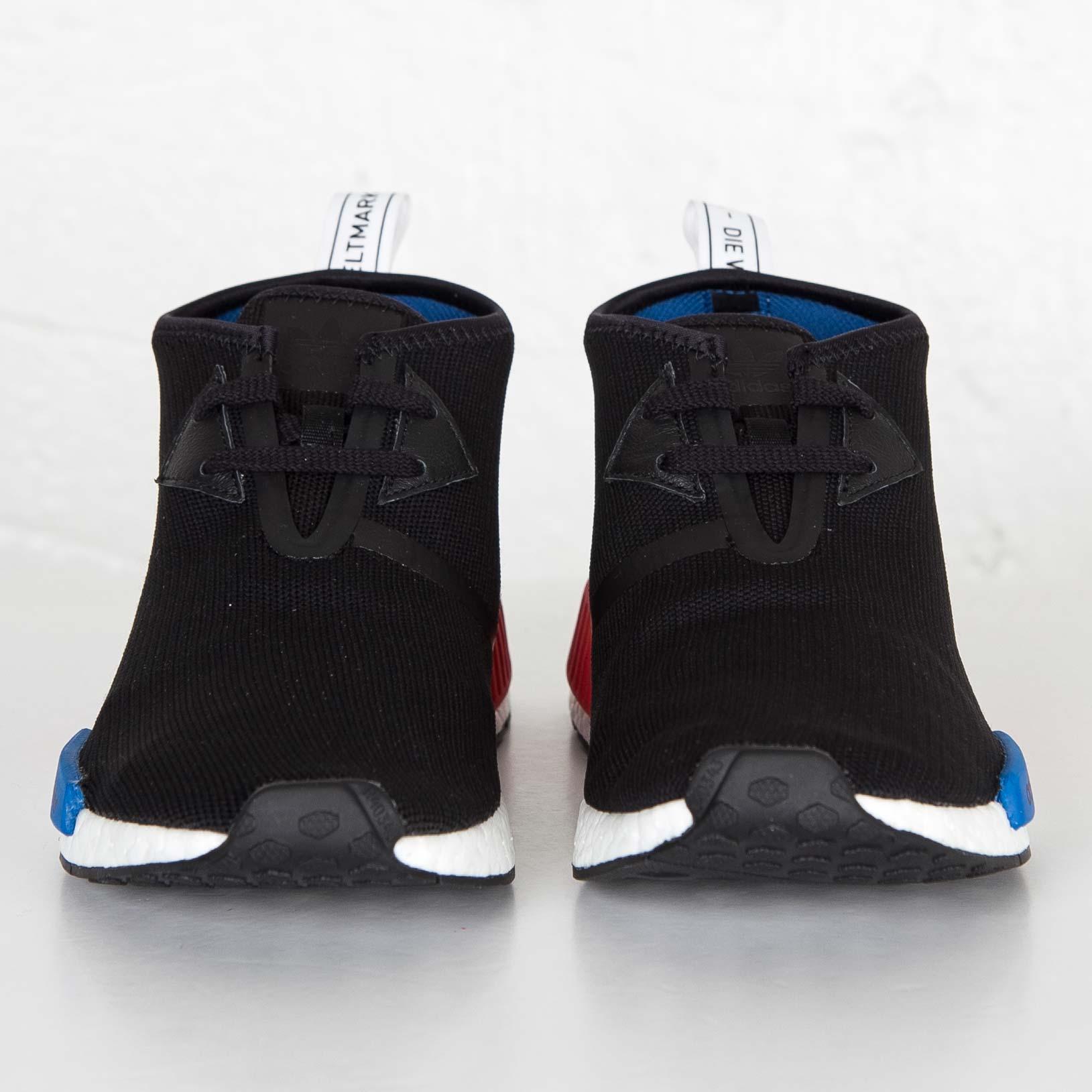 Adidas Originals Nmd C1 CORE BLACK LUSH RED S79148