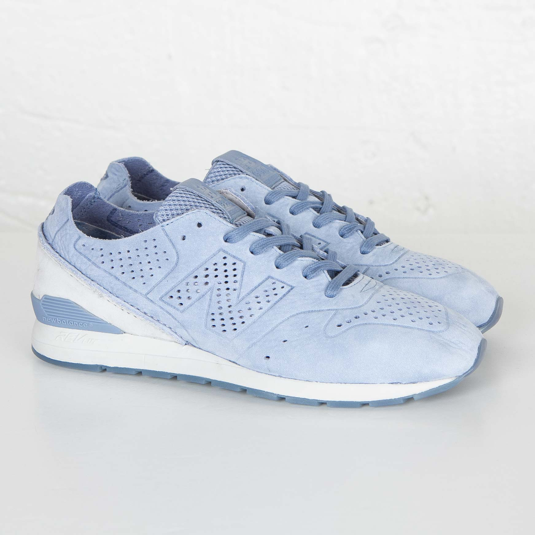 The newest New Balance 996 Slate Blue Mens Sneakers, Discount