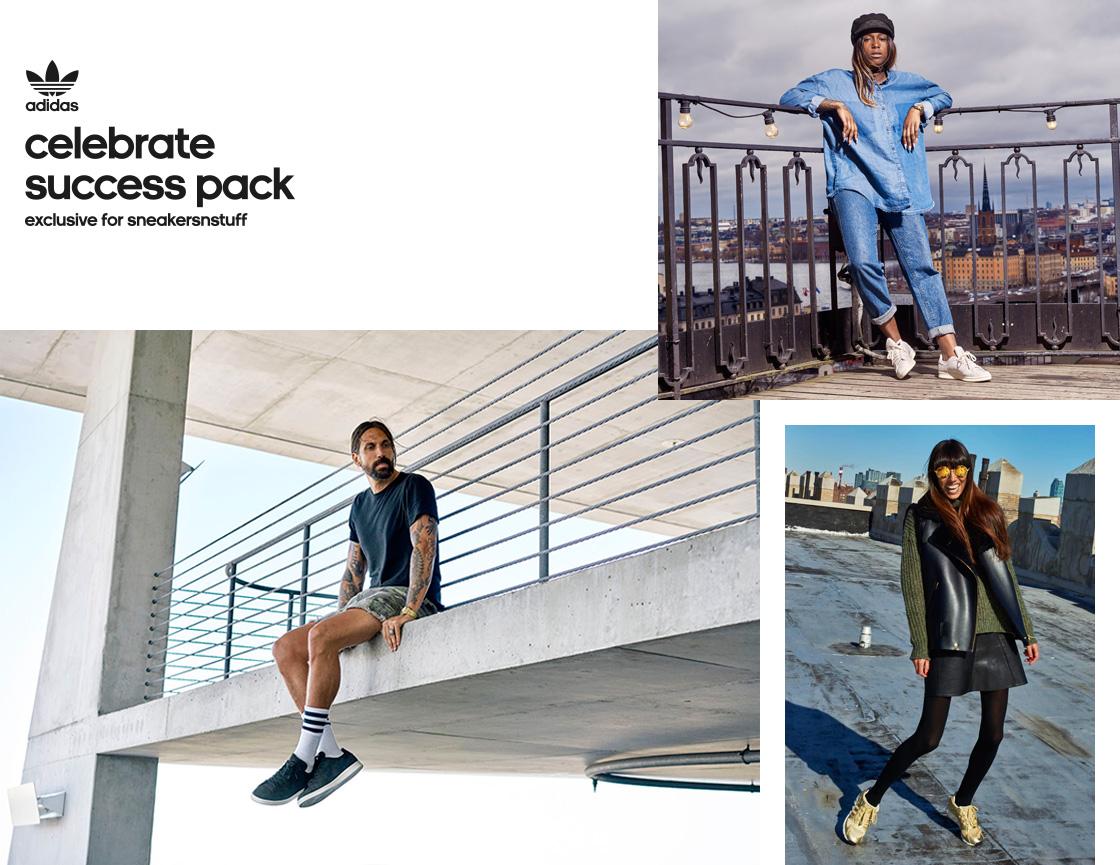 """premium selection c9390 46844 adidas Originals  Sneakersnstuff. """"Celebrate Success Pack"""""""