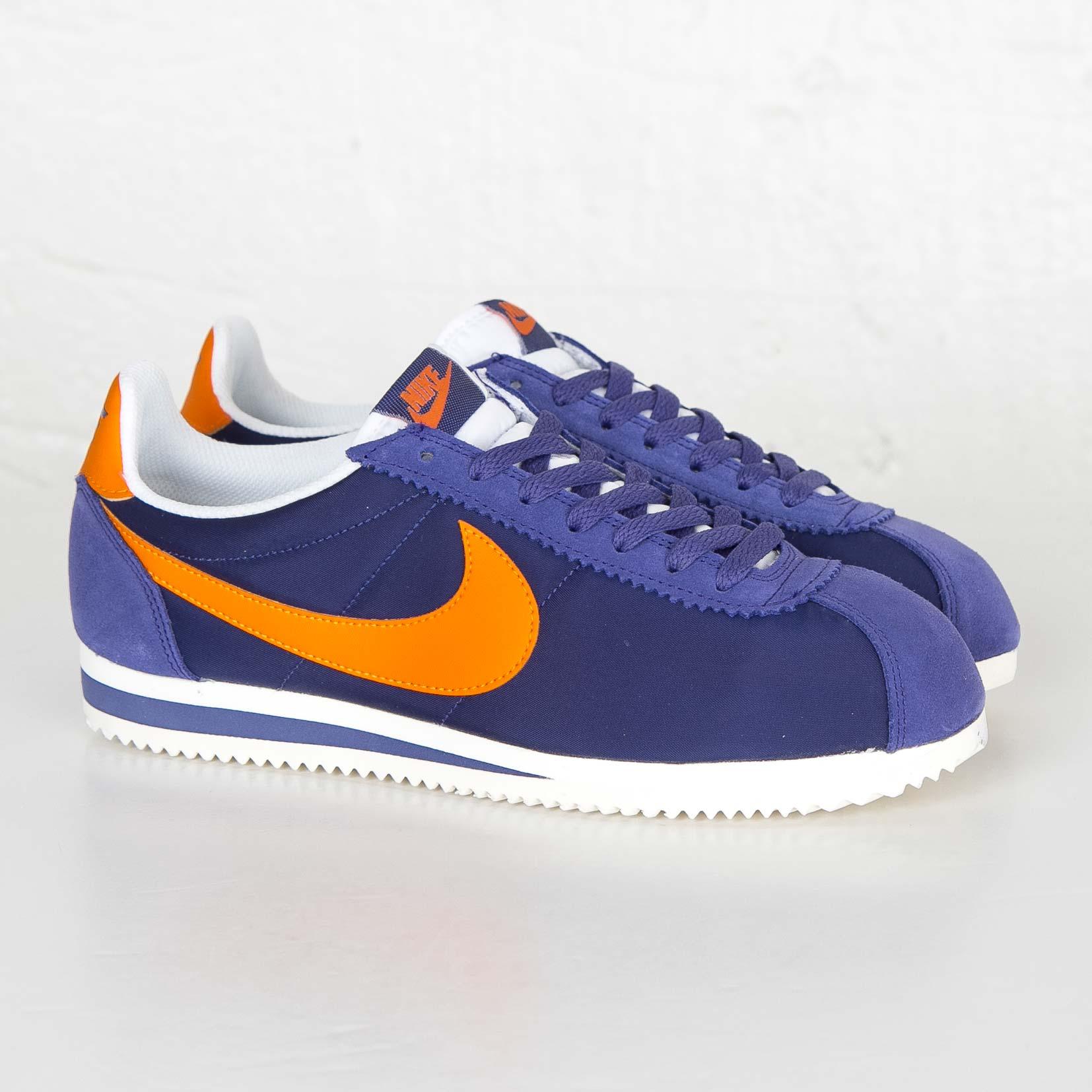 Nike Classic Cortez Nylon 807472 483 Chaussuressnstuff Chaussuress