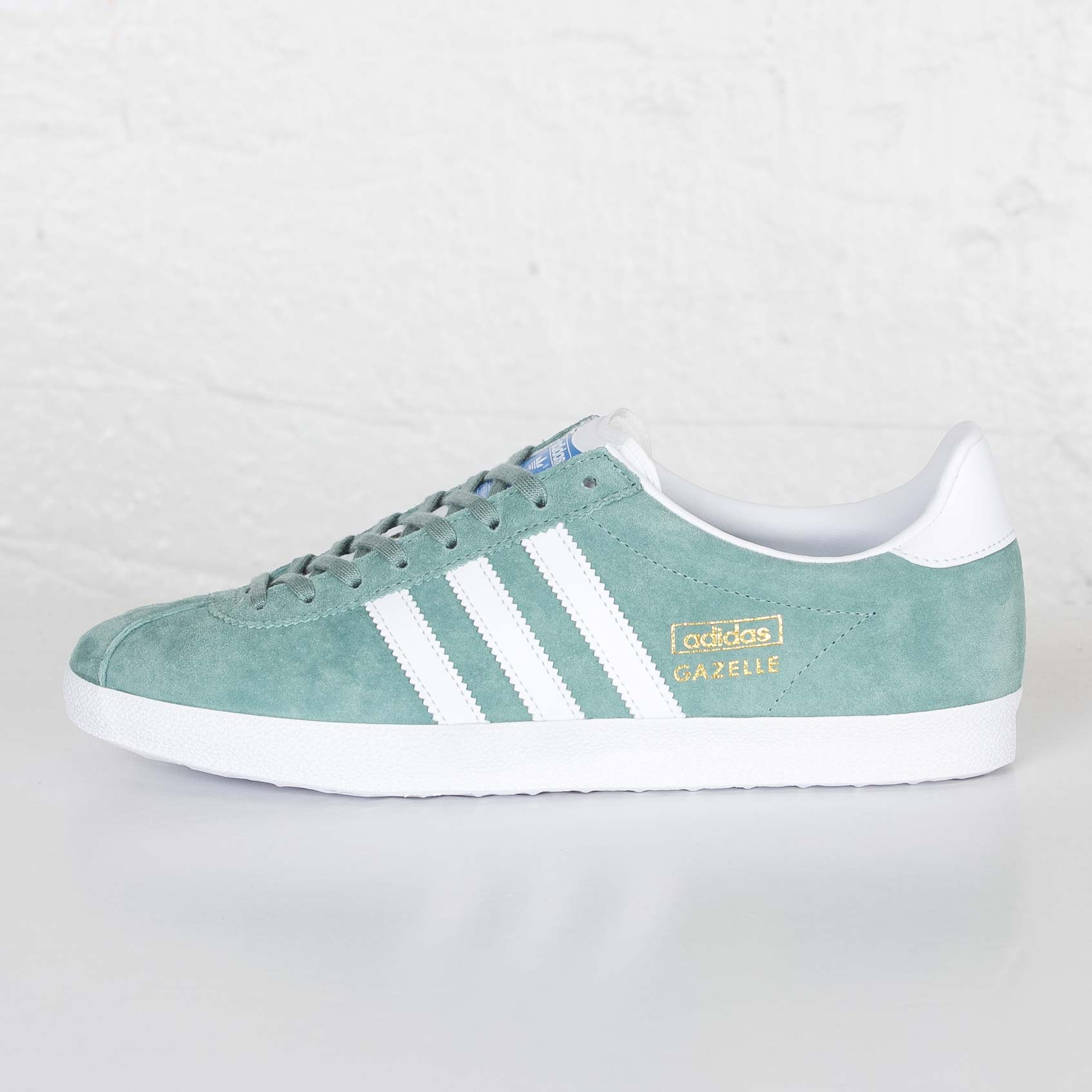 Adidas Originals Gazelle Trainers Green For Women Clearance