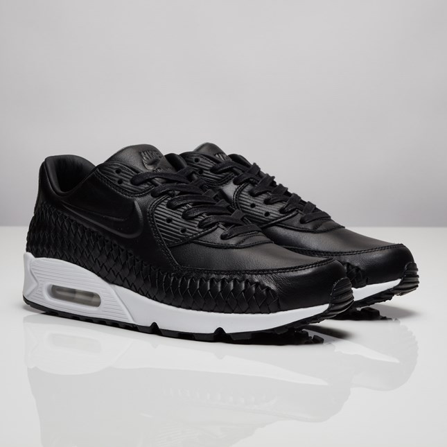 Nike Air Max 90 Woven - 833129-001 - Sneakersnstuff  7e3f0bfbae03