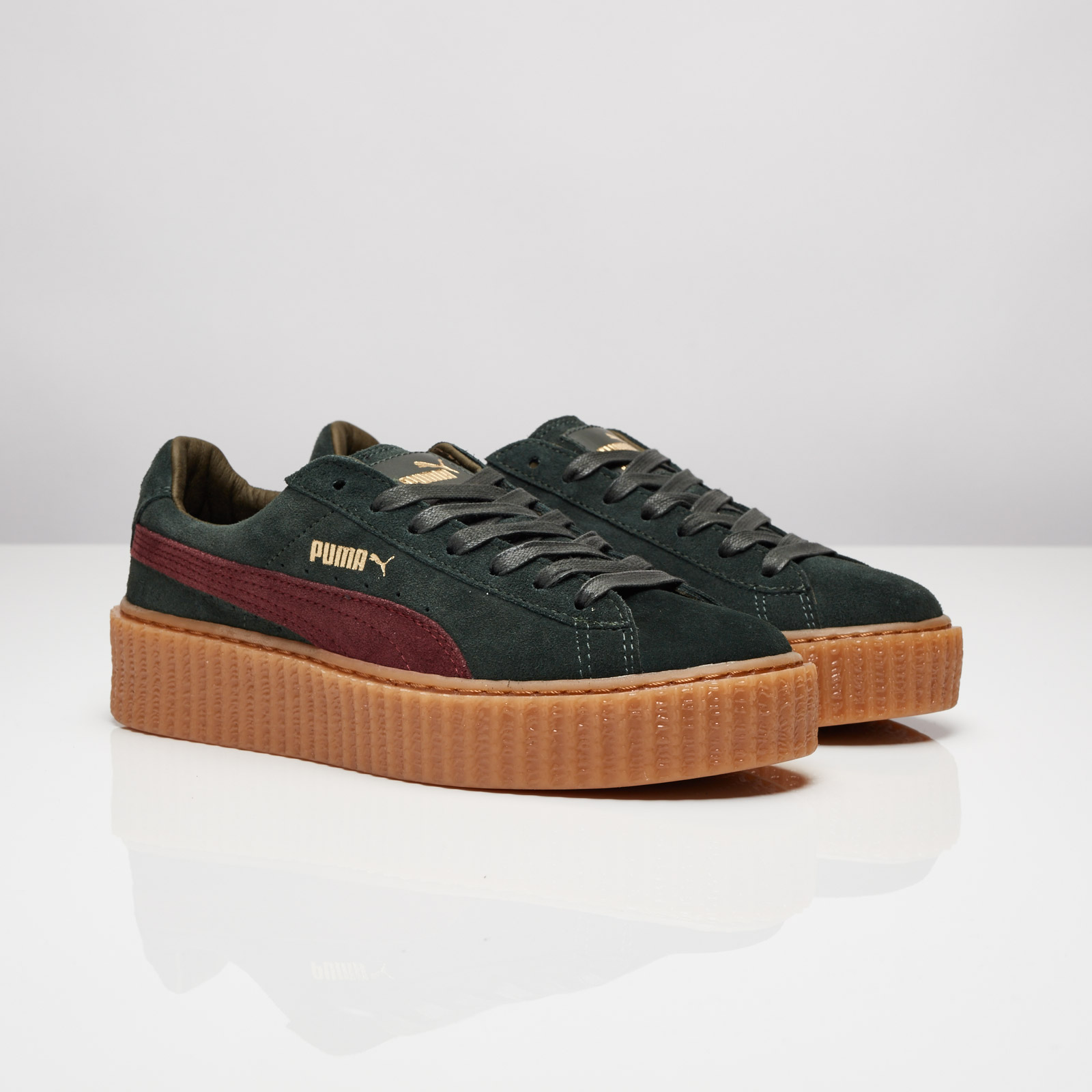 puma by rihanna creepers rouge