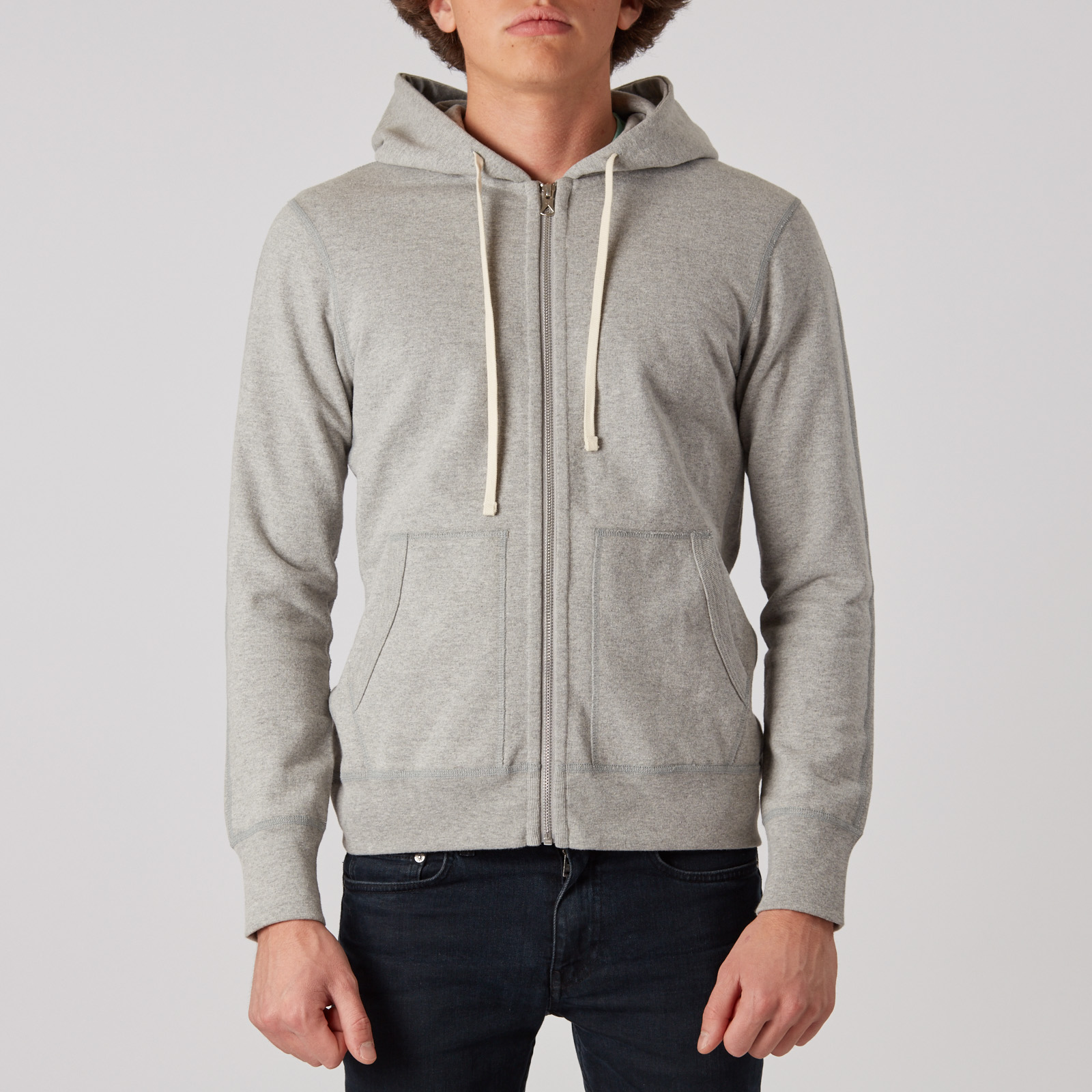 Reigning Champ Heavyweight Fleece L S Full Zip Hoody - Rc-3260-4 ... 26ea83d35
