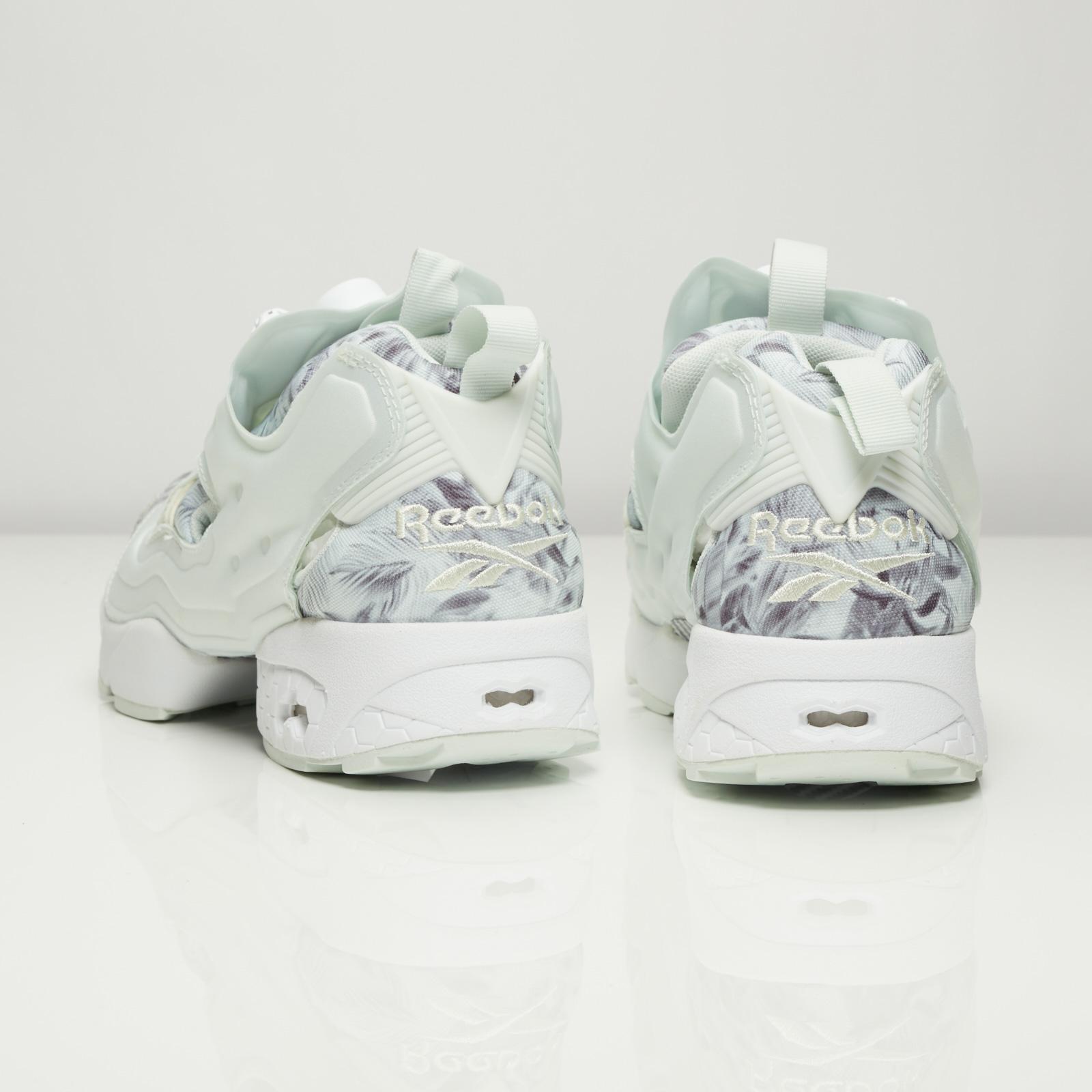 reebok instapump fury sg trainers opal/white/steel