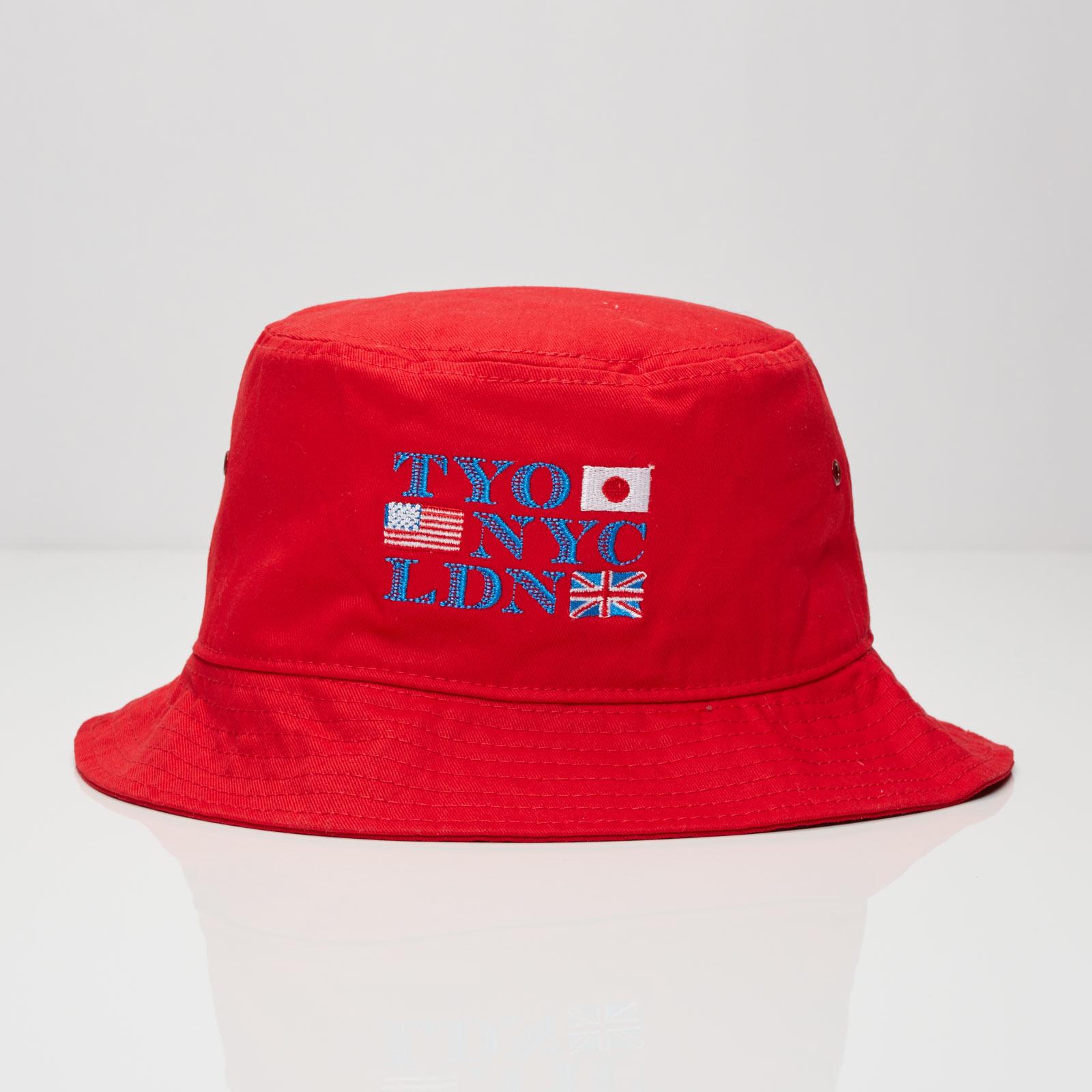 10f8d36d35f Billionaire Boys Club Alliance Bucket Hat - Eusum16026red - Sneakersnstuff