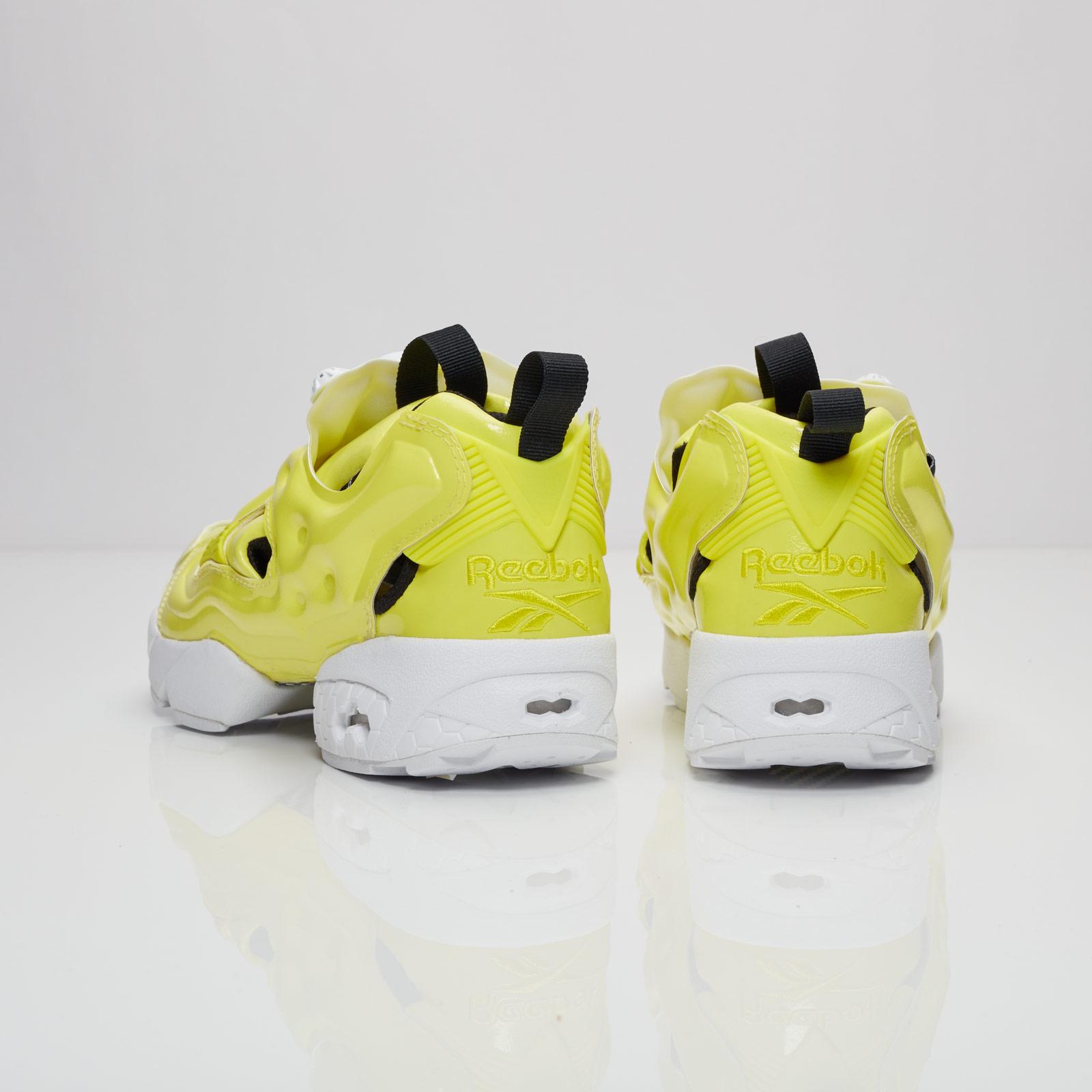 reebok insta pump fury jaune