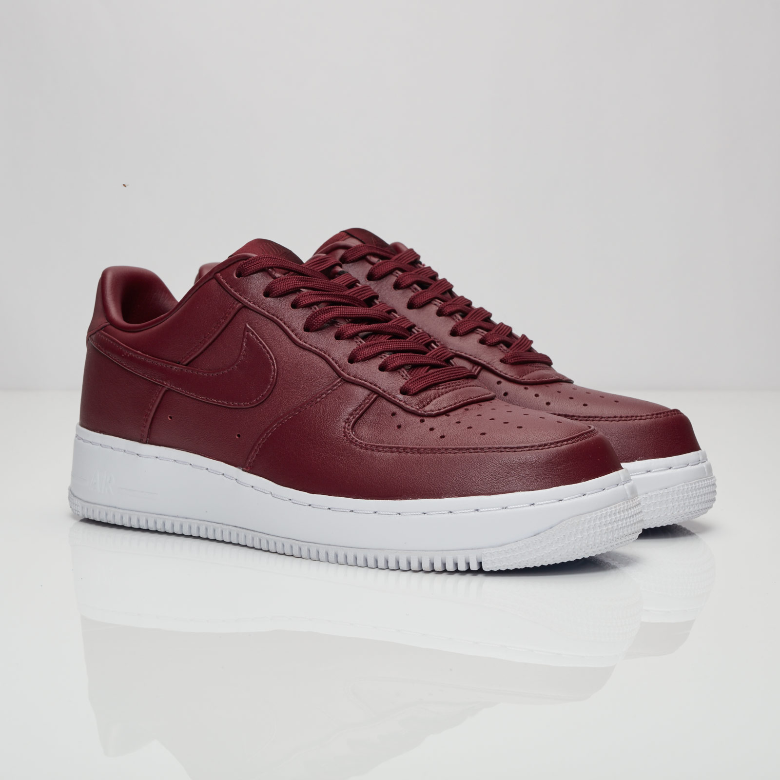 Nikelab Air Force 1 Low 555106 661 Night MaroonNight Maroon