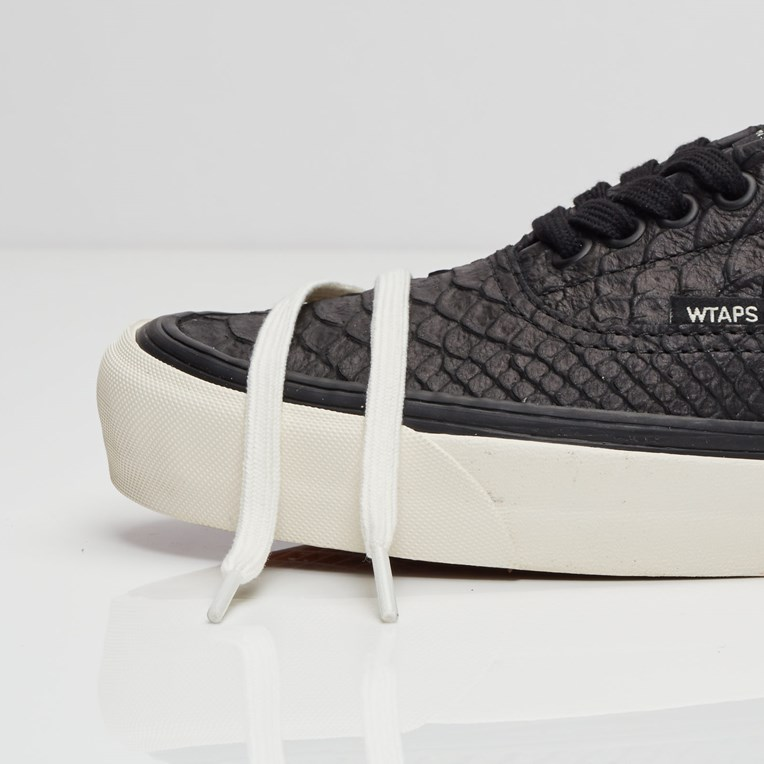Vans Vault x WTAPS OG Era LX (Anaconda) Black - Bodega