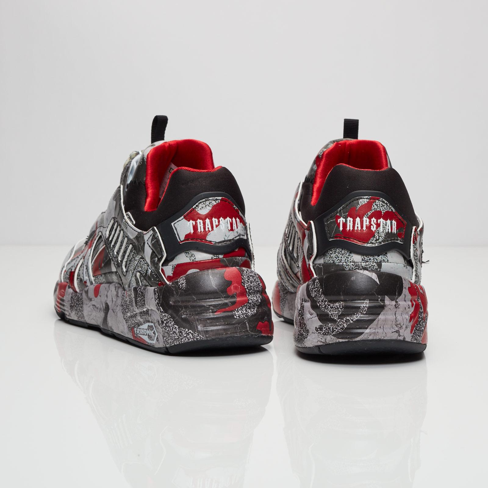069abc59a6c49 Puma Disc Blaze Camo x TRAPSTAR - 361647-01 - Sneakersnstuff | sneakers &  streetwear online since 1999