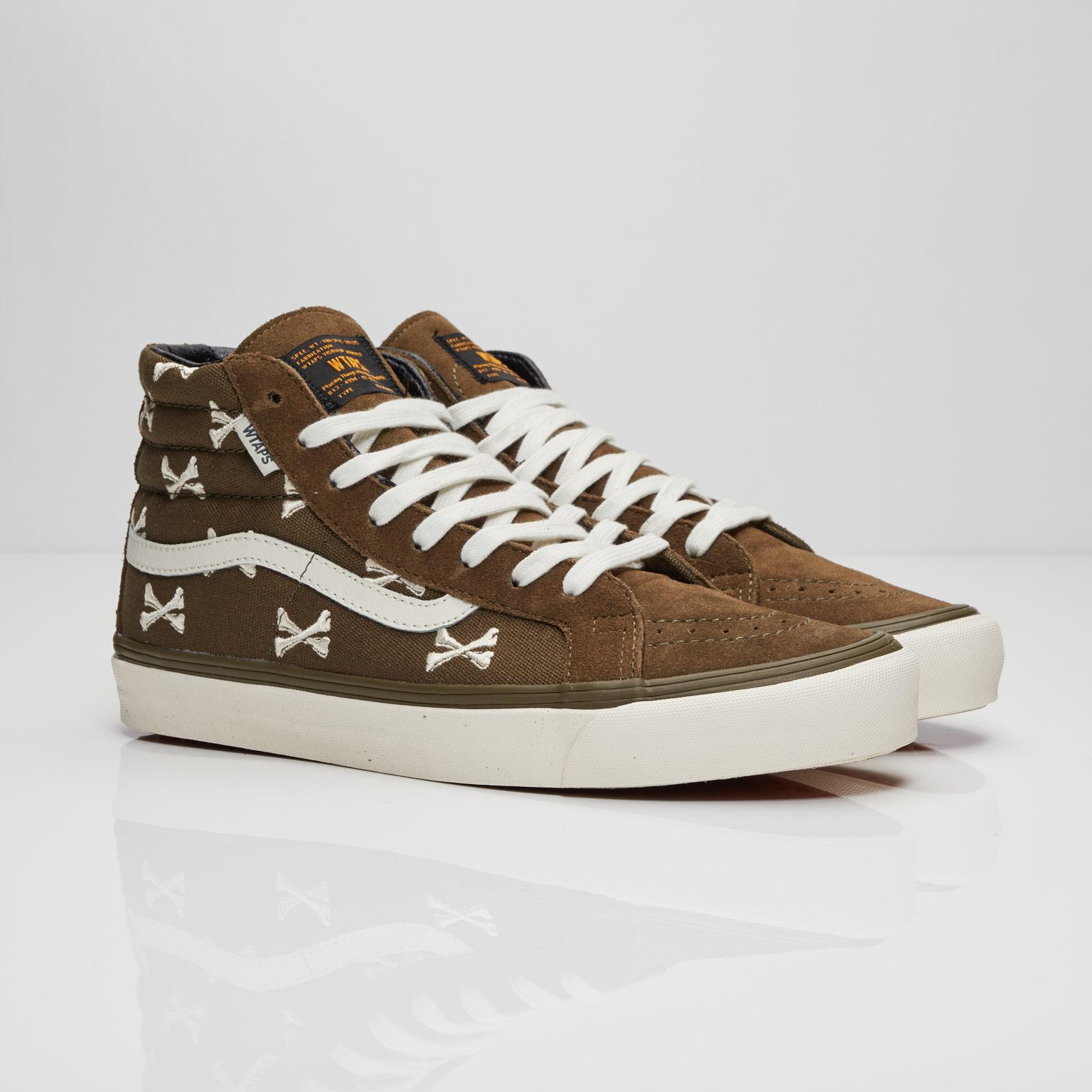 17db5341416 Vans OG Sk8-Hi LX   WTAPS - V003t0kbd - Sneakersnstuff