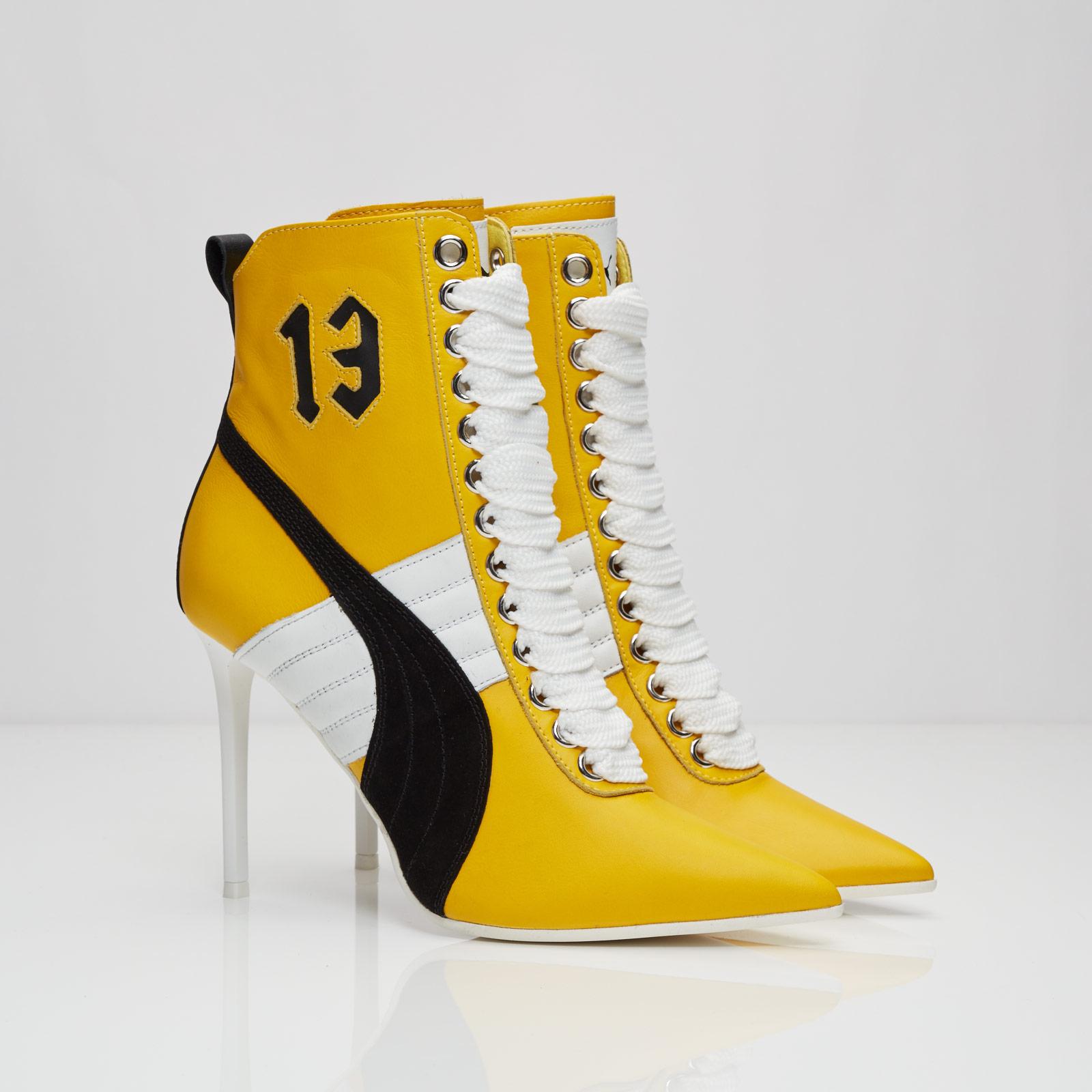 Puma High Heel Sneaker Leather - 363038