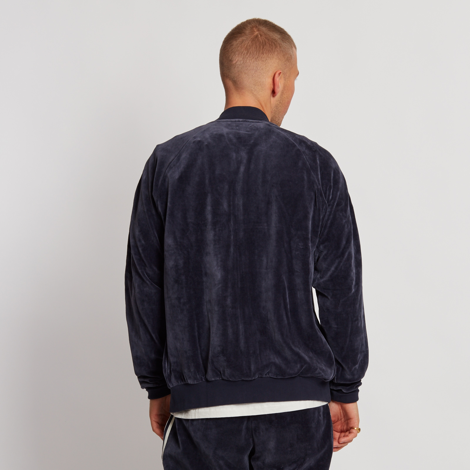 ... adidas Velour Superstar Track Top ...