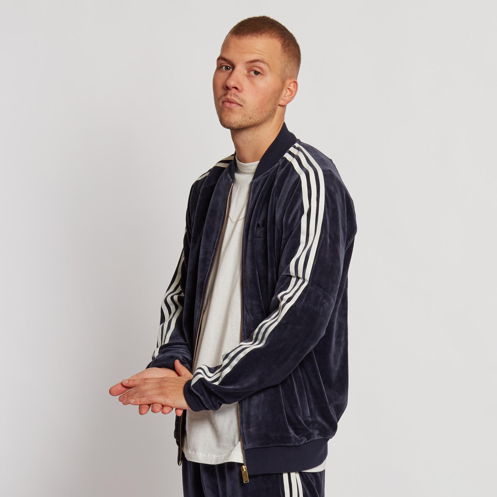 adidas Velour Superstar Track Top - Ay9222 - SNS | sneakers ...