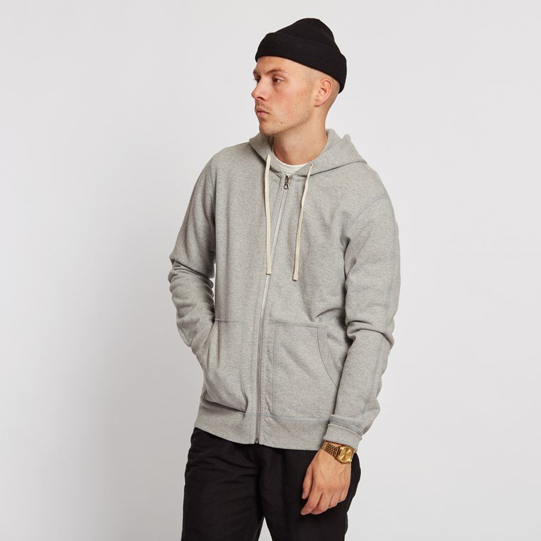 Reigning Champ Twill Terry Full Zip Hoodie Jacket