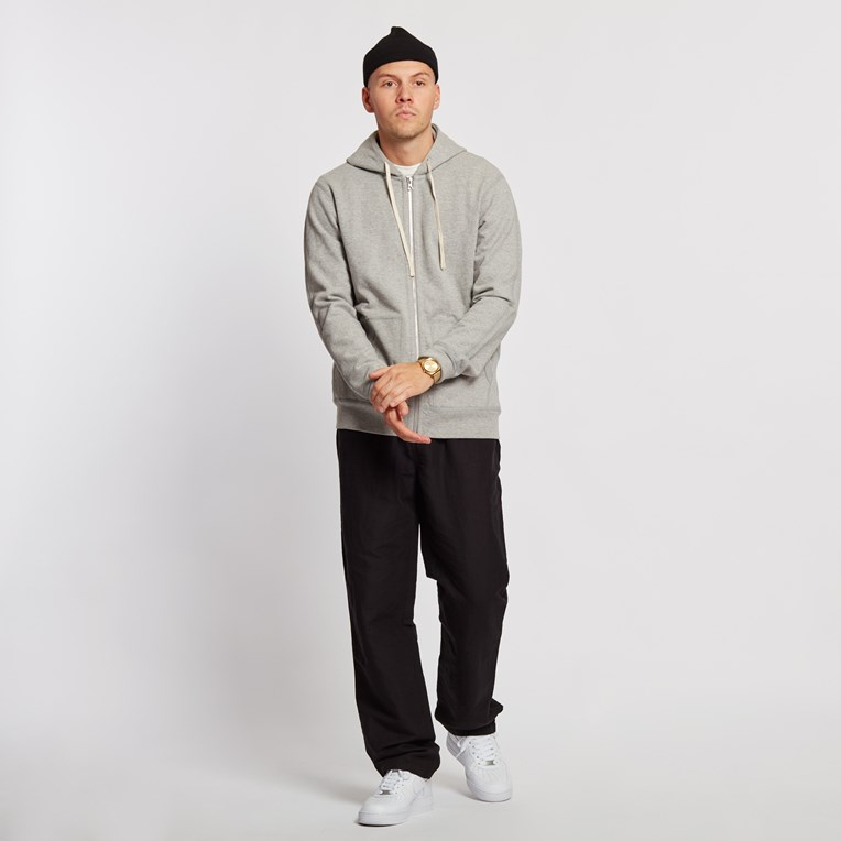 Reigning Champ Twill Terry Full Zip Hoodie Jacket - 3