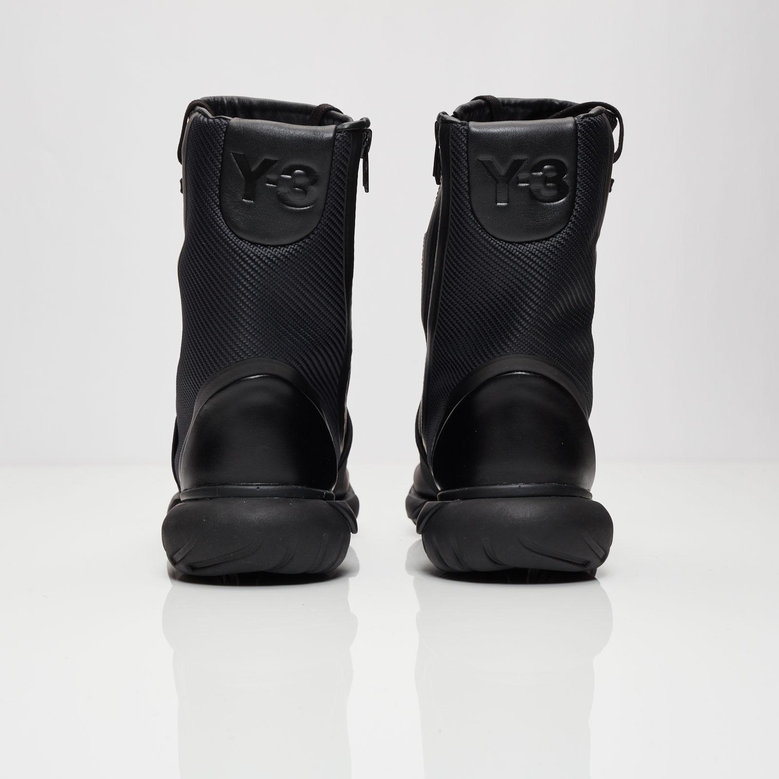 """cad1729b56bb9 ... """"Triple Black""""  sneaker ... adidas Y-3 Qasa Boot .. ..."""