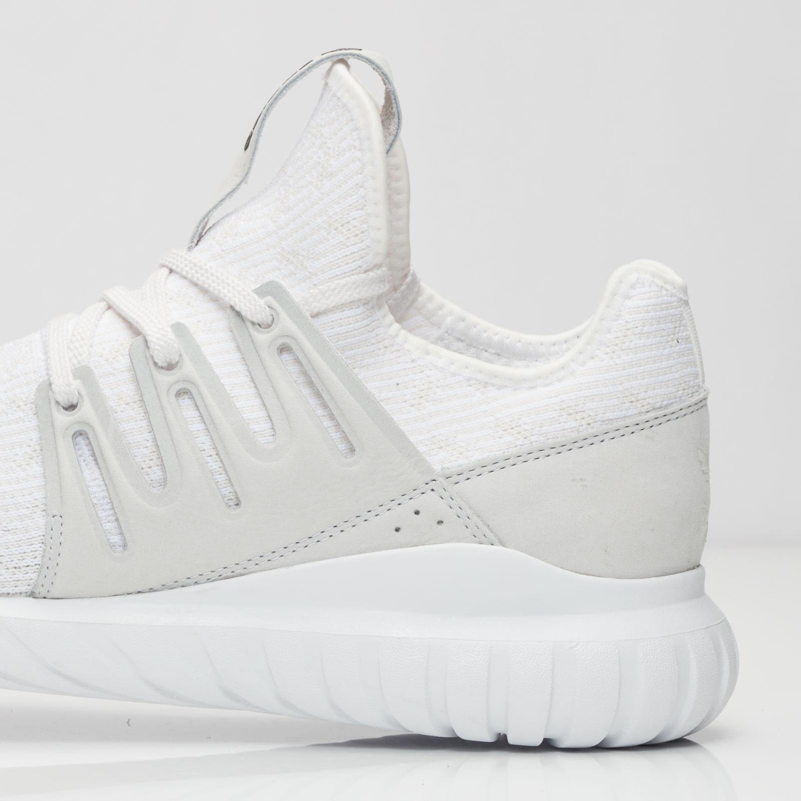 adidas sweatshirt, adidas Tubular Radial Sneaker in weiß