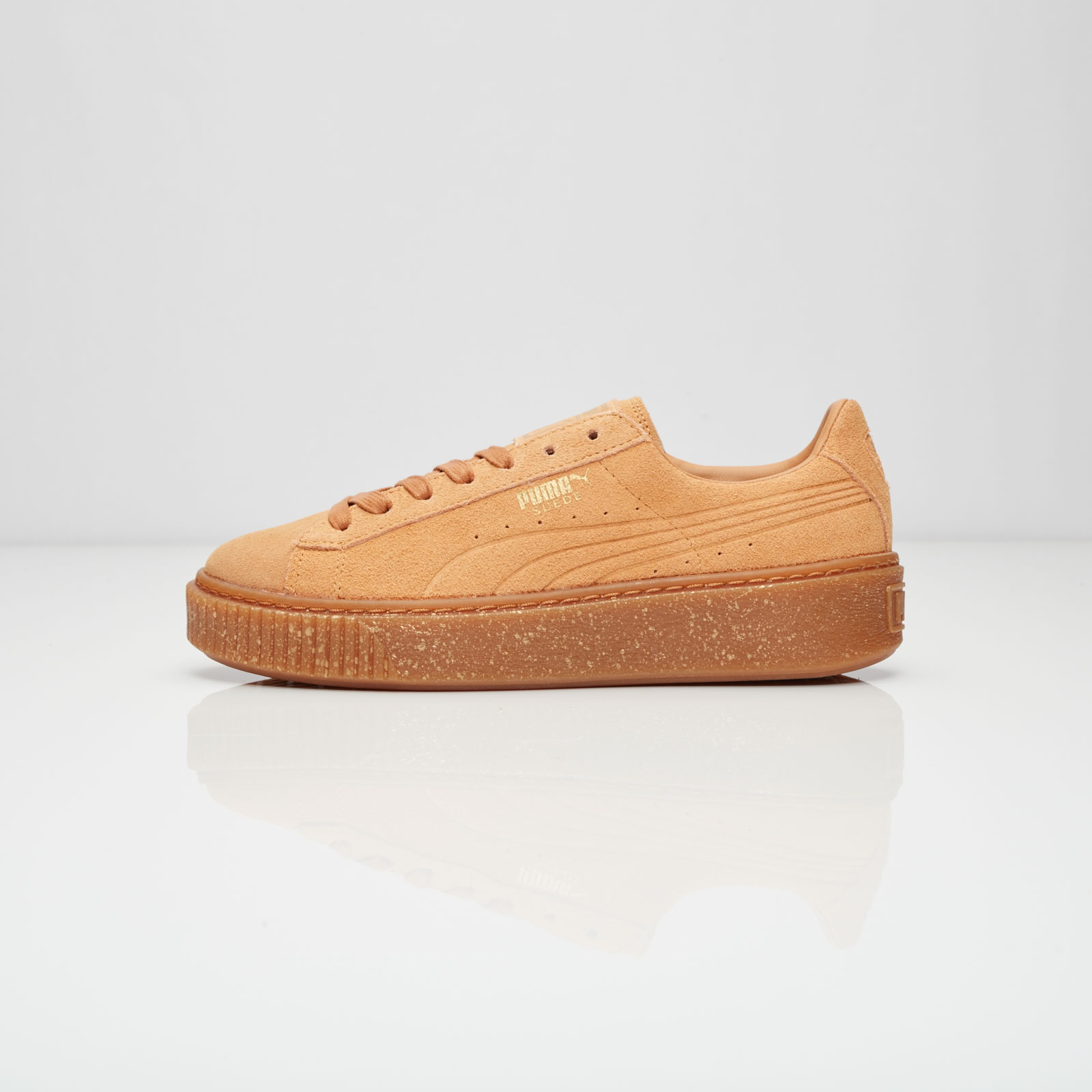 28749056417f Puma Suede Platform Speckled Wns - 363707-01 - Sneakersnstuff ...