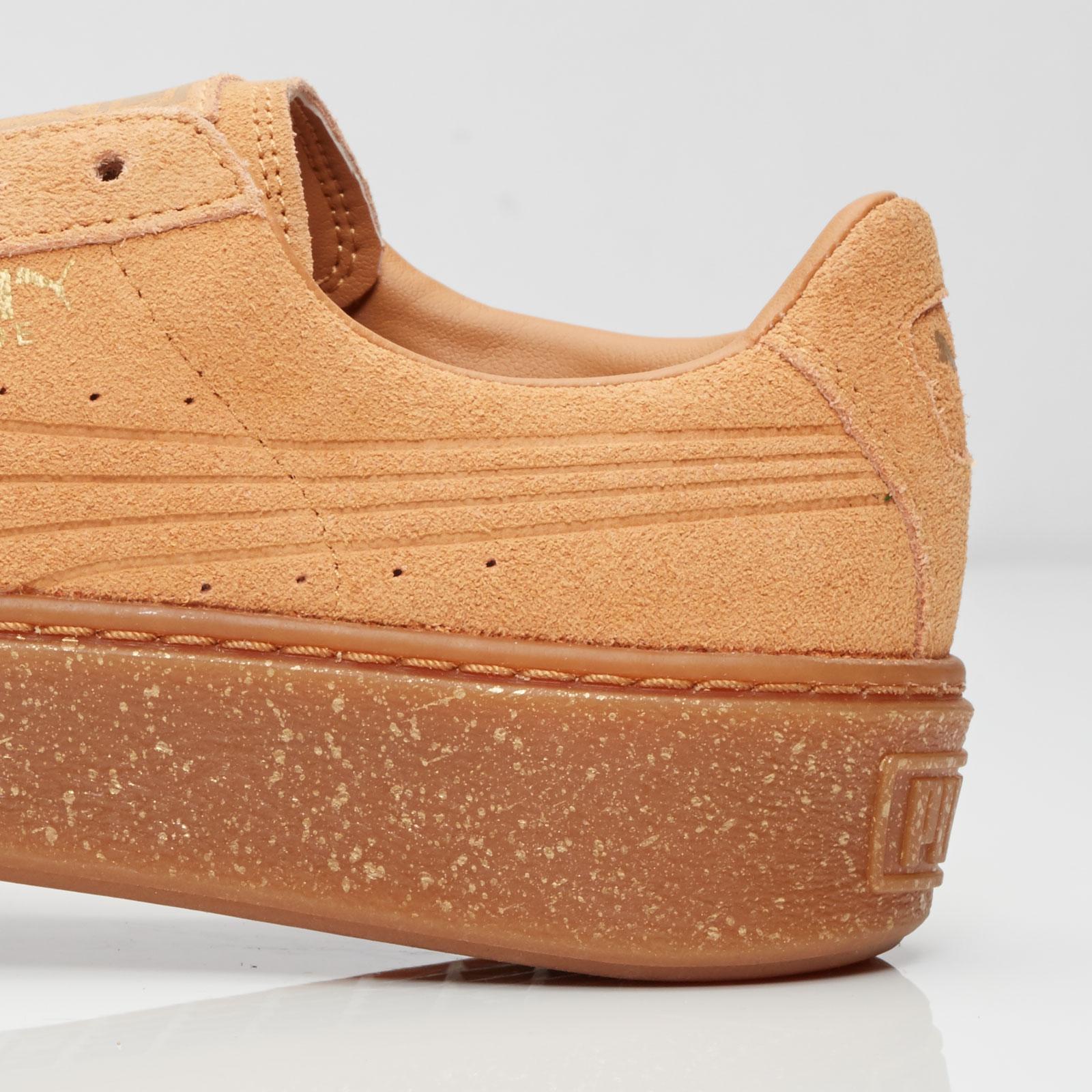 basket puma suede platform speckled