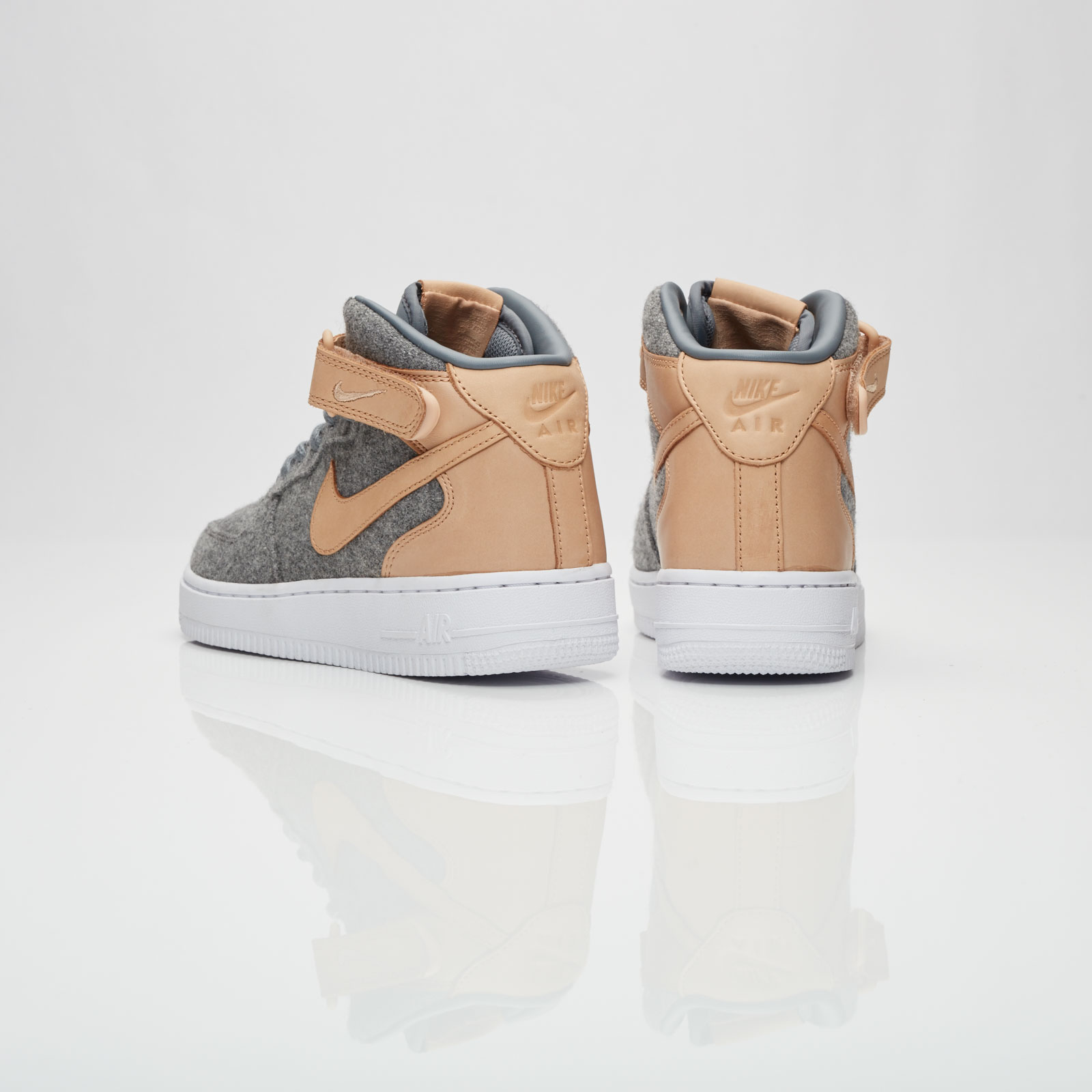the best attitude 63c32 ee004 Nike Wmns Air Force 1 07 Mid Leather Premium - 857666-001 - Sneakersnstuff    sneakers   streetwear online since 1999