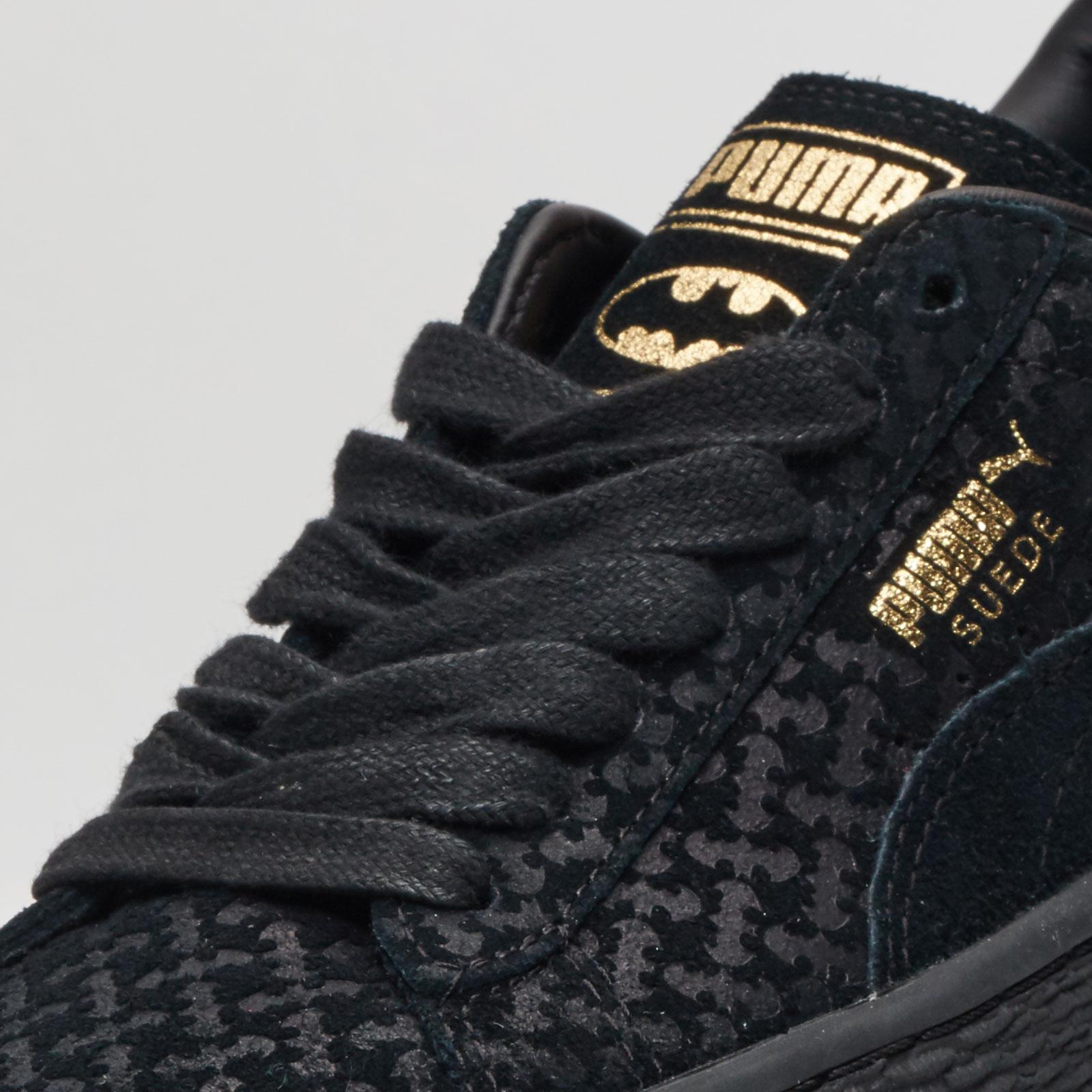Puma Suede Batman Fm Jr - 362493-01 - Sneakersnstuff  5e0cabb28