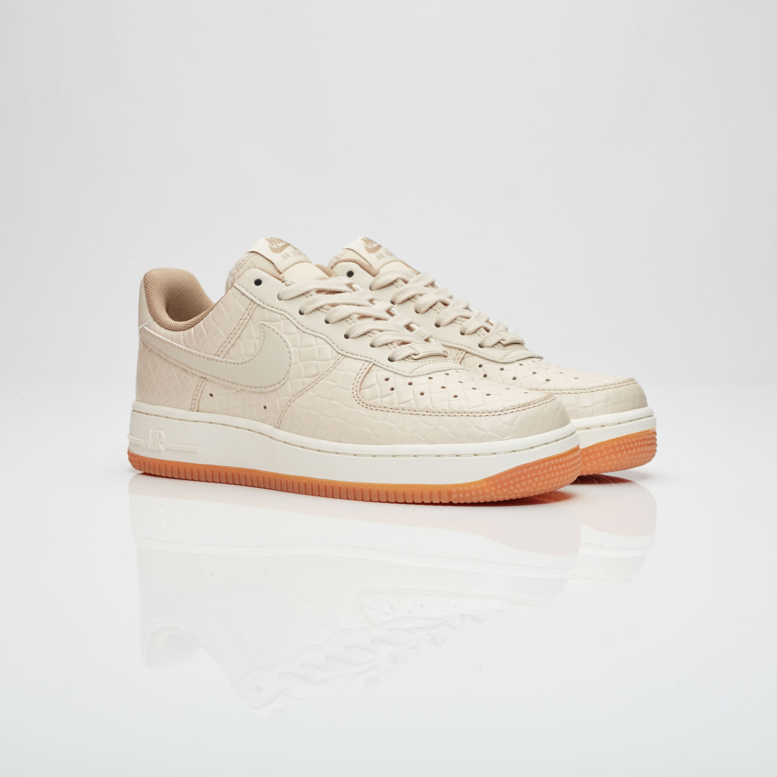Nike Air Force 1 '07 Premium Womens 616725 112 Oatmeal Khaki