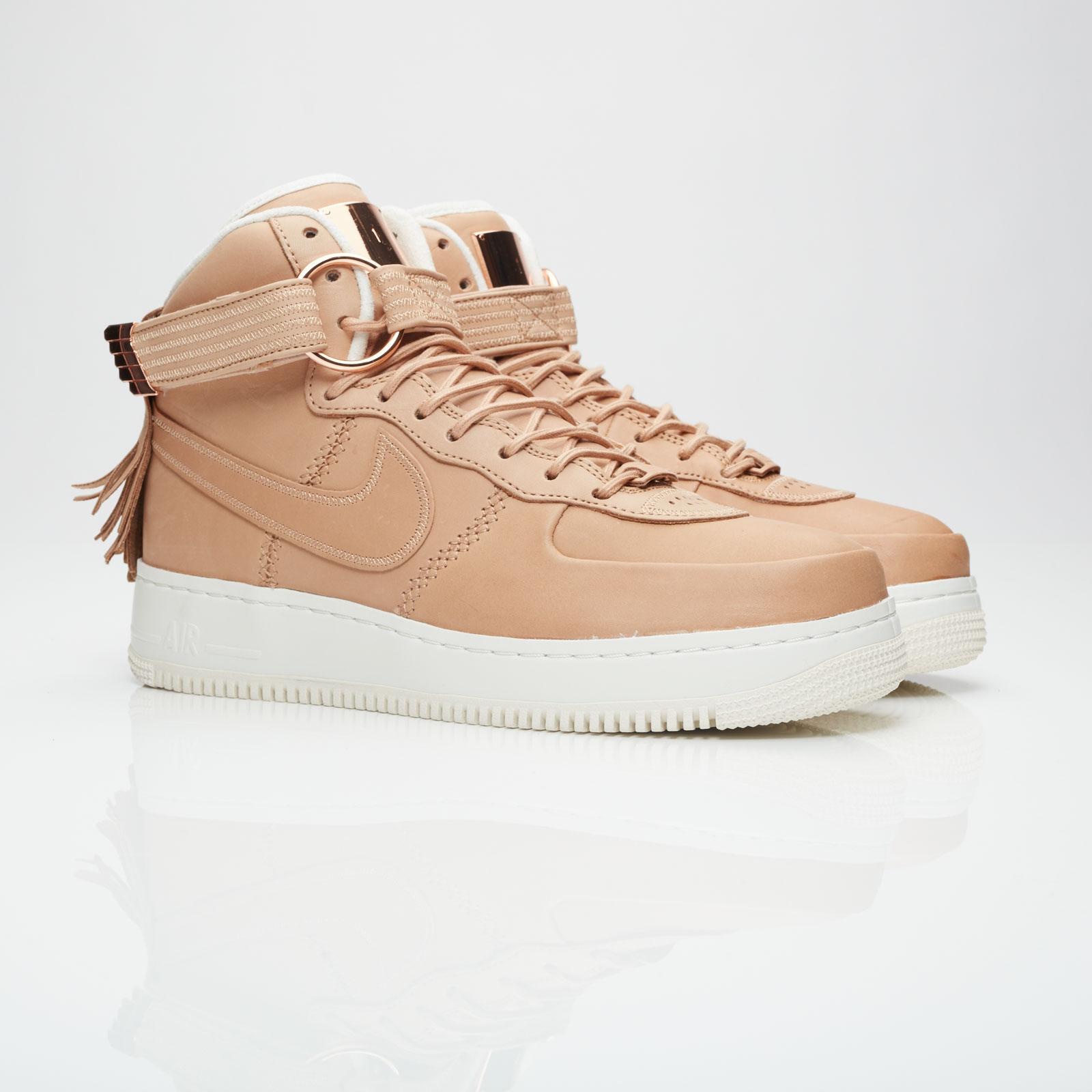 Nike AIR FORCE 1 HI PREMIUM W Beige ExskCLKz