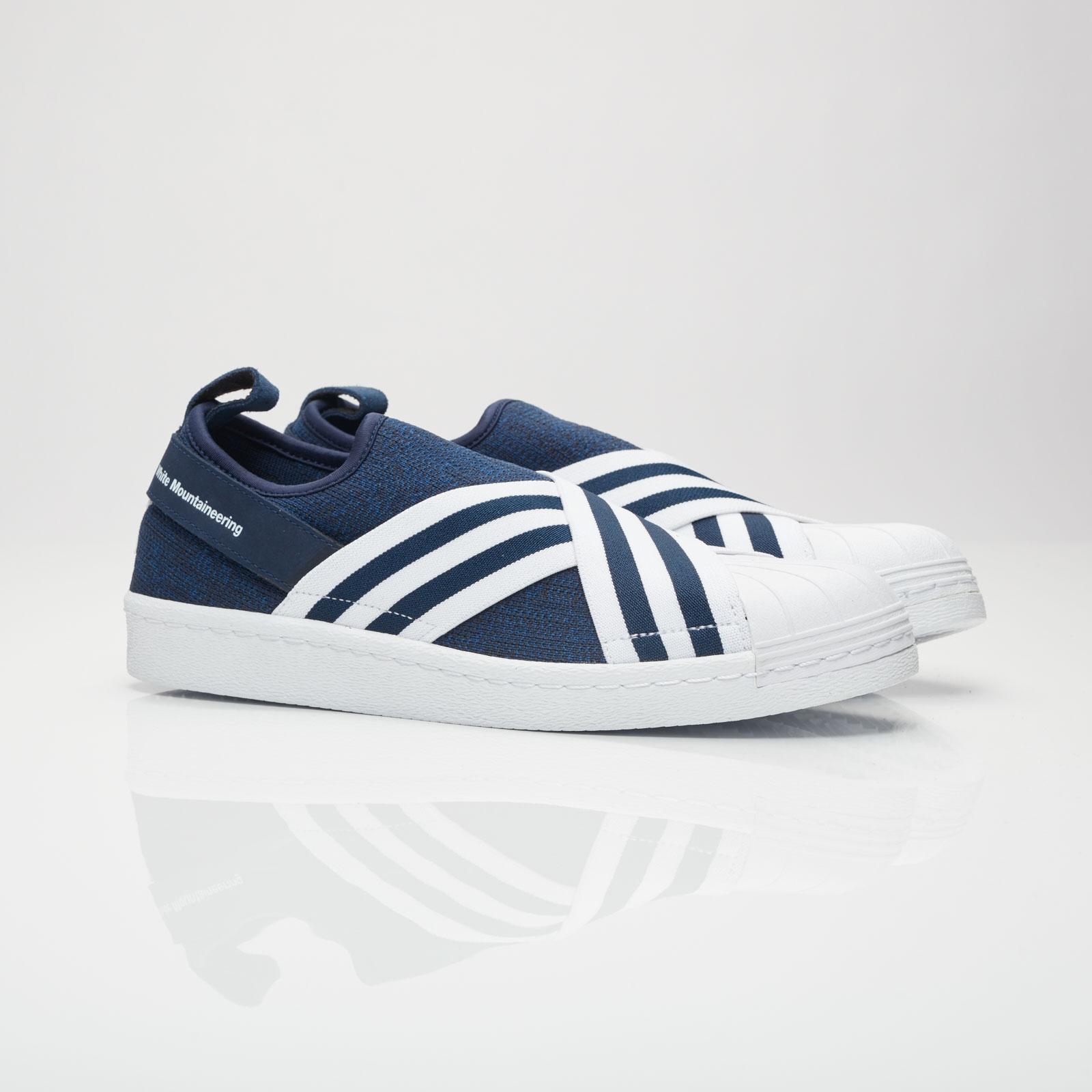 Superstar Slip On WM White Sneakers Adidas | WOMEN | ShoeChapter