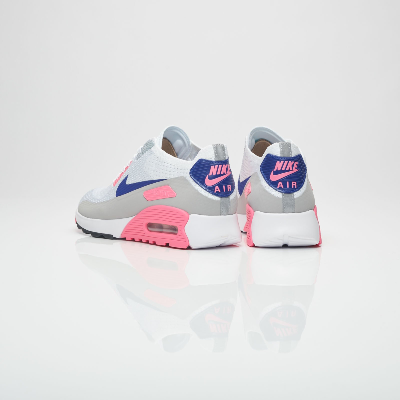 Nike Air Max 90 Ultra 2.0 Flyknit WMNS Laser Pink | Nike