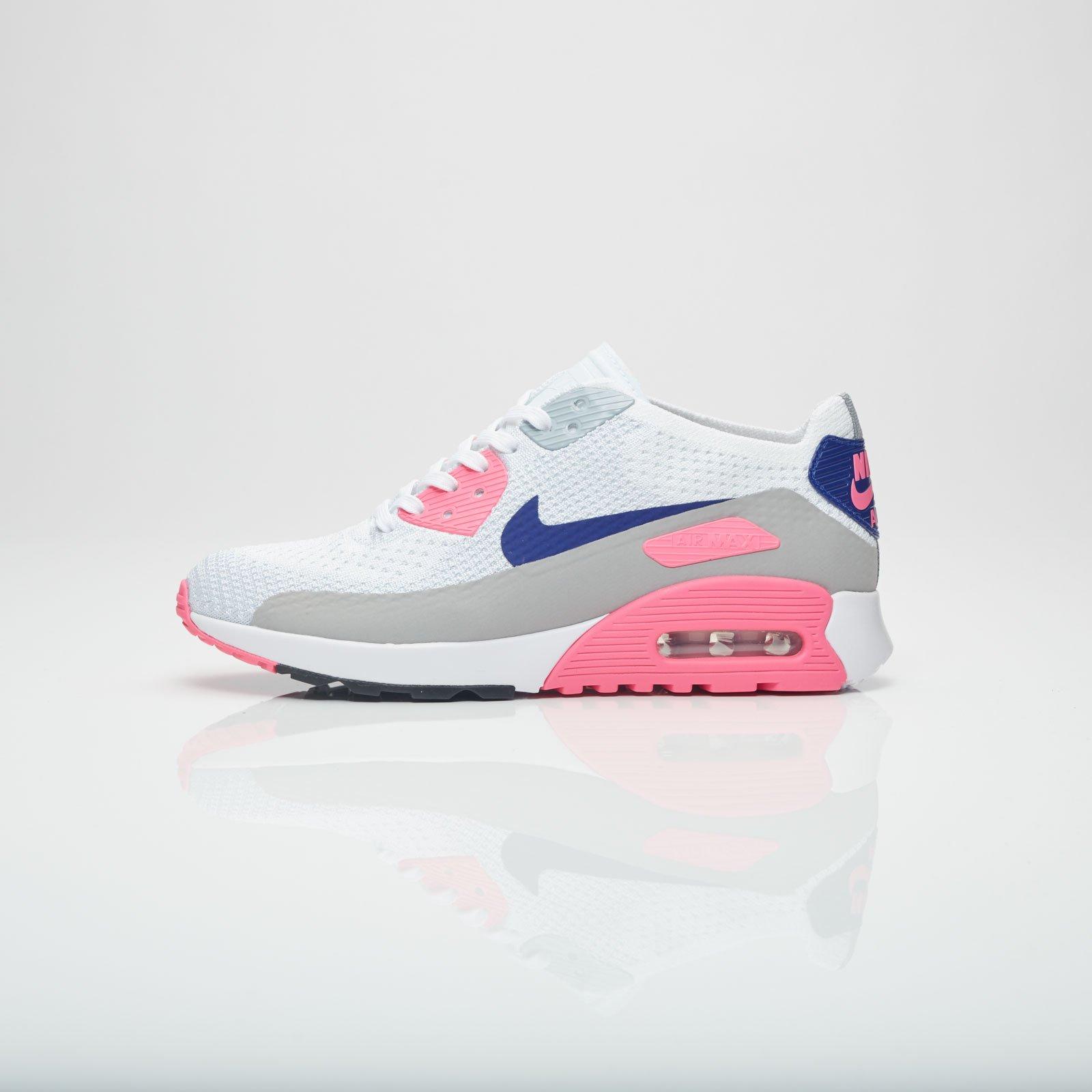 new product c025d c851c Nike Wmns Air Max 90 Ultra 2.0 Flyknit - 881109-101 - Sneakersnstuff    sneakers   streetwear på nätet sen 1999