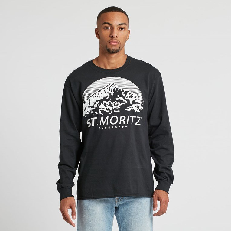St Moritz Supersoft Classic Long Sleeve Tee
